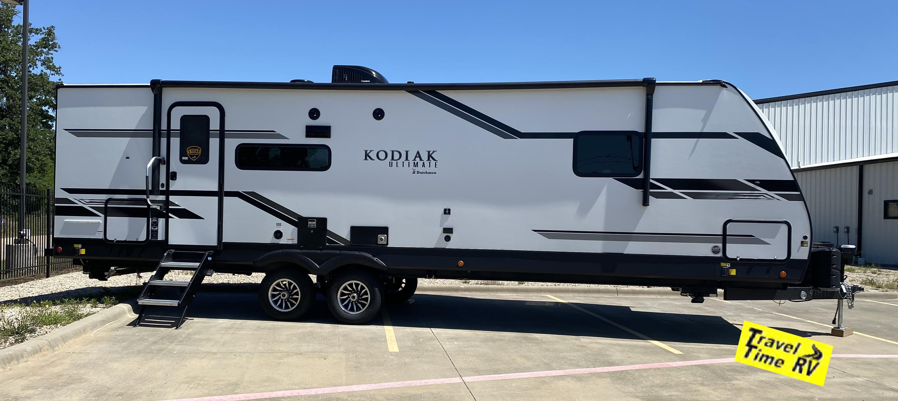 New, 2021, Dutchmen, Kodiak Ultimate 3021RBDS, Travel Trailers