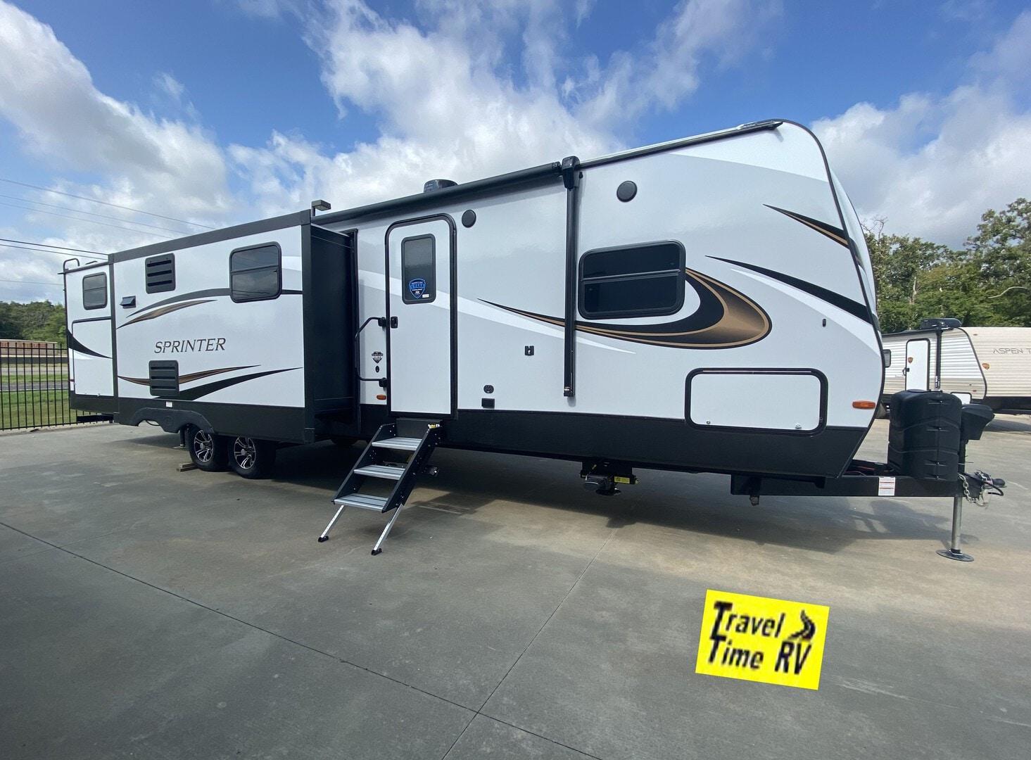 New, 2021, Keystone, Sprinter Limited (Travel Trailer) 341BIK, Travel Trailers