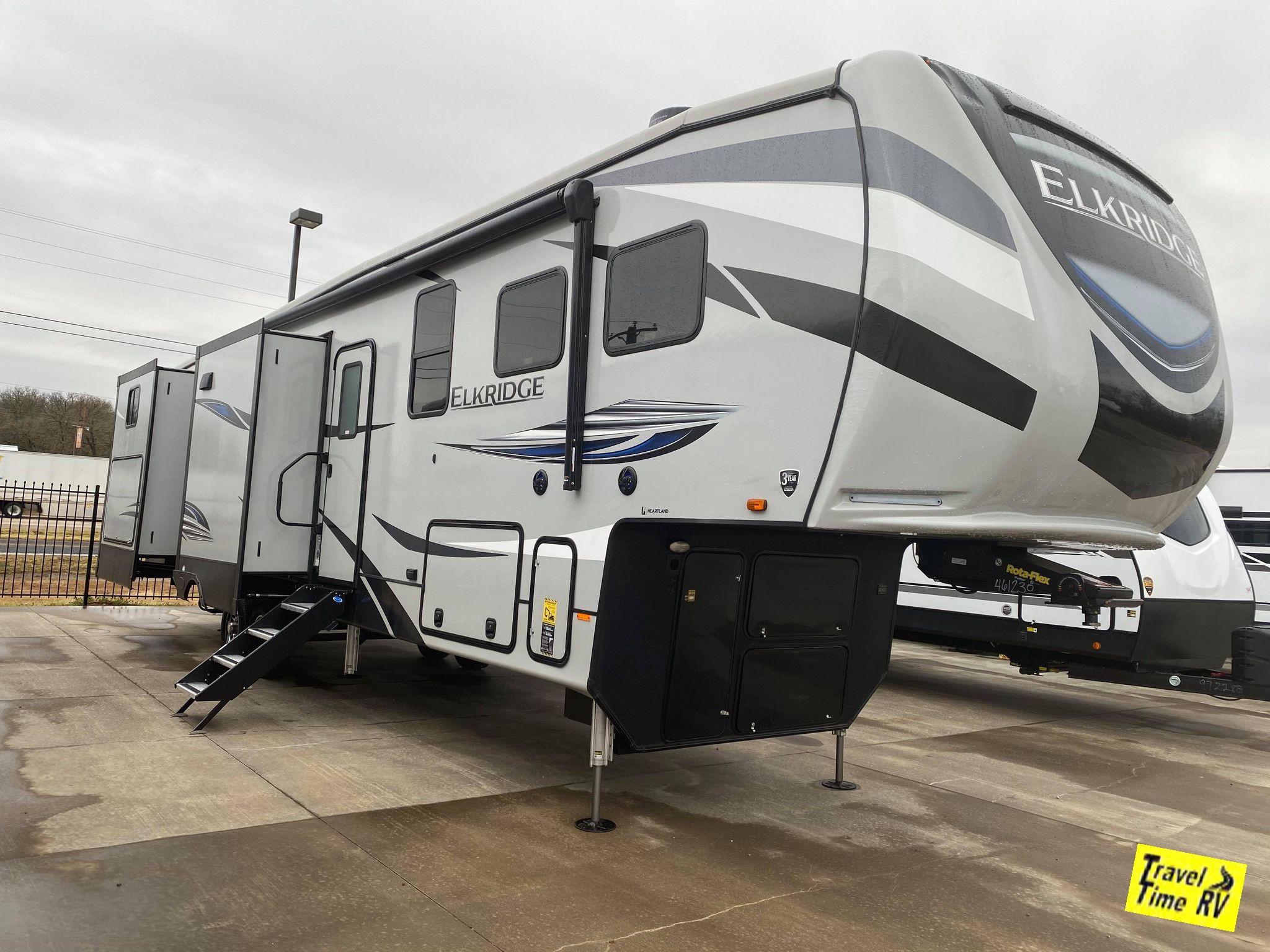 New, 2021, Heartland, Elkridge ER 38RSRT, Fifth Wheels