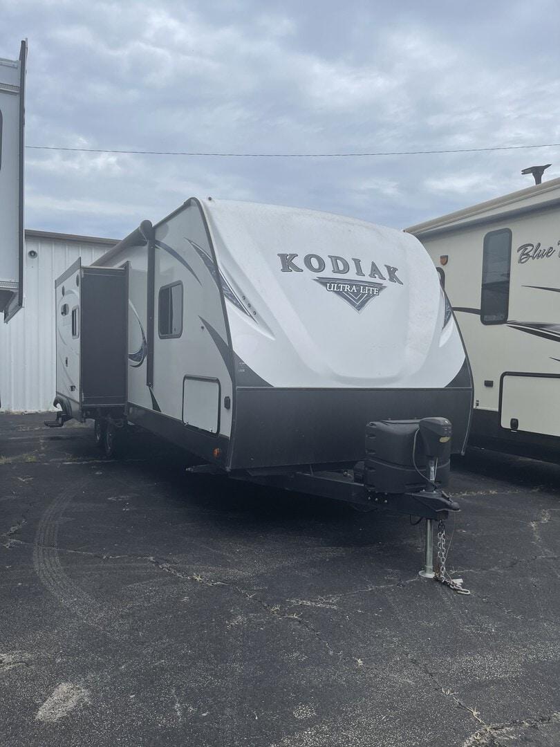 Used, 2018, Kodiak Ultra-Lite, 253RBSK, Travel Trailers