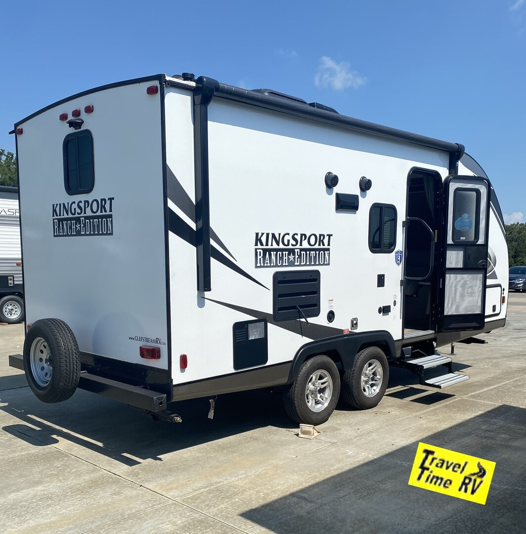 Used, 2021, Gulf Stream, Kingsport Ranch Edition 21MBD, Travel Trailers
