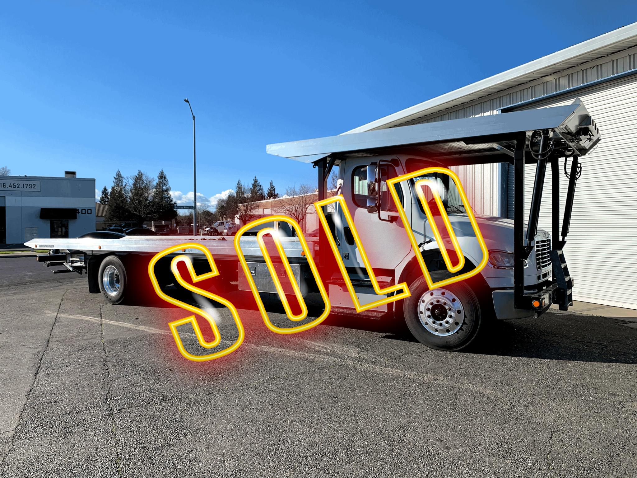 Used, 2017, Freightliner, M2 / Chevron 28.0' 4-Car, Tow Trucks
