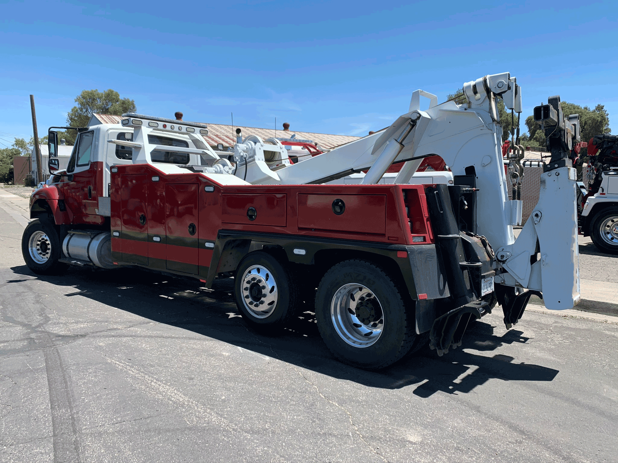 Used, 2008, International, 7600 / Vulcan NV-50, Tow Trucks