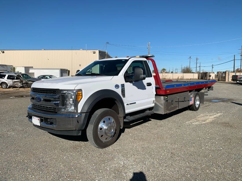 Used, 2017, Ford, F550 XLT / Century 10 19.5' Steel SST Carrier, Tow Trucks