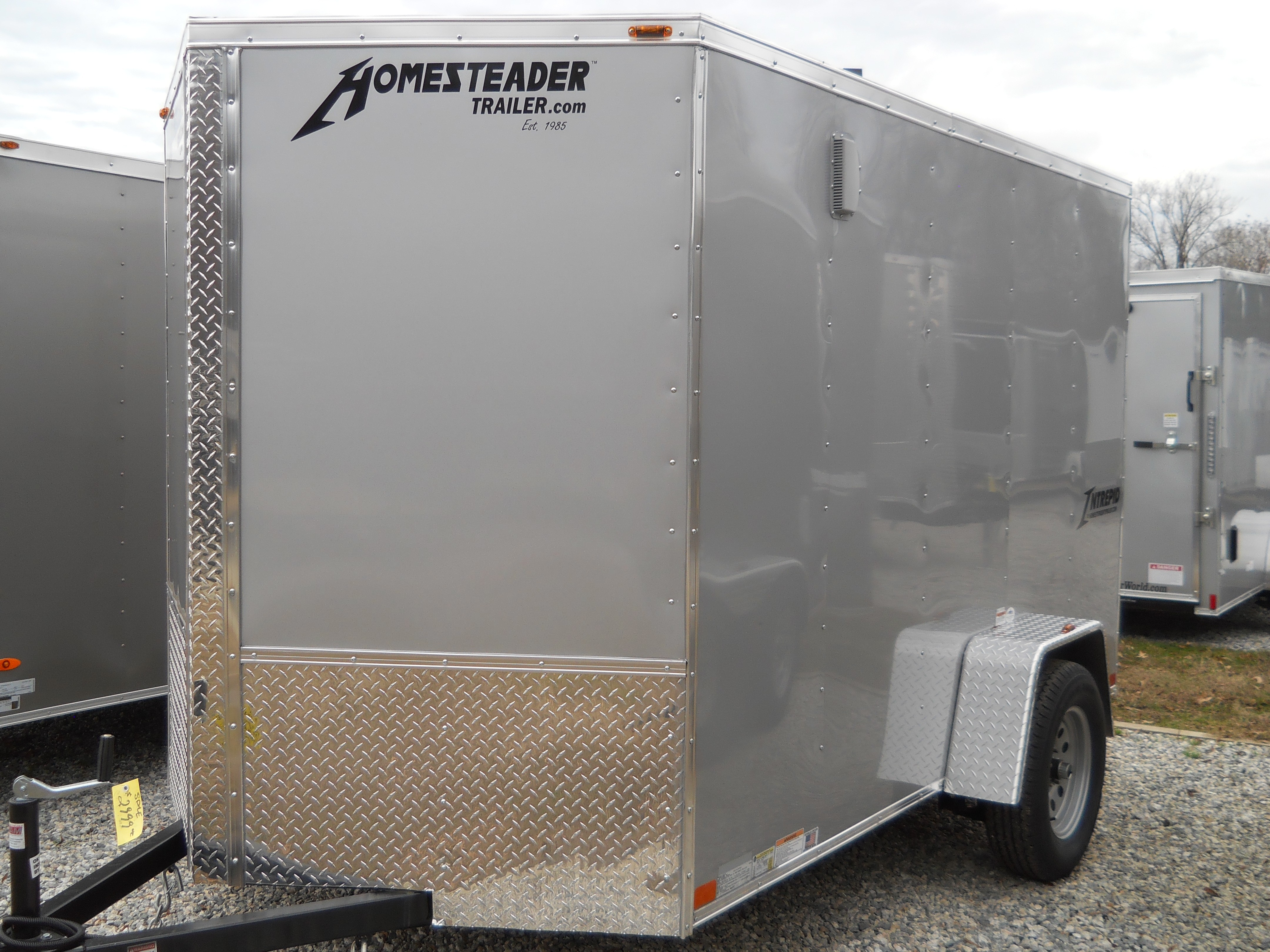 New, 2019, Homesteader, 6x10  Intrepid , Cargo Trailers