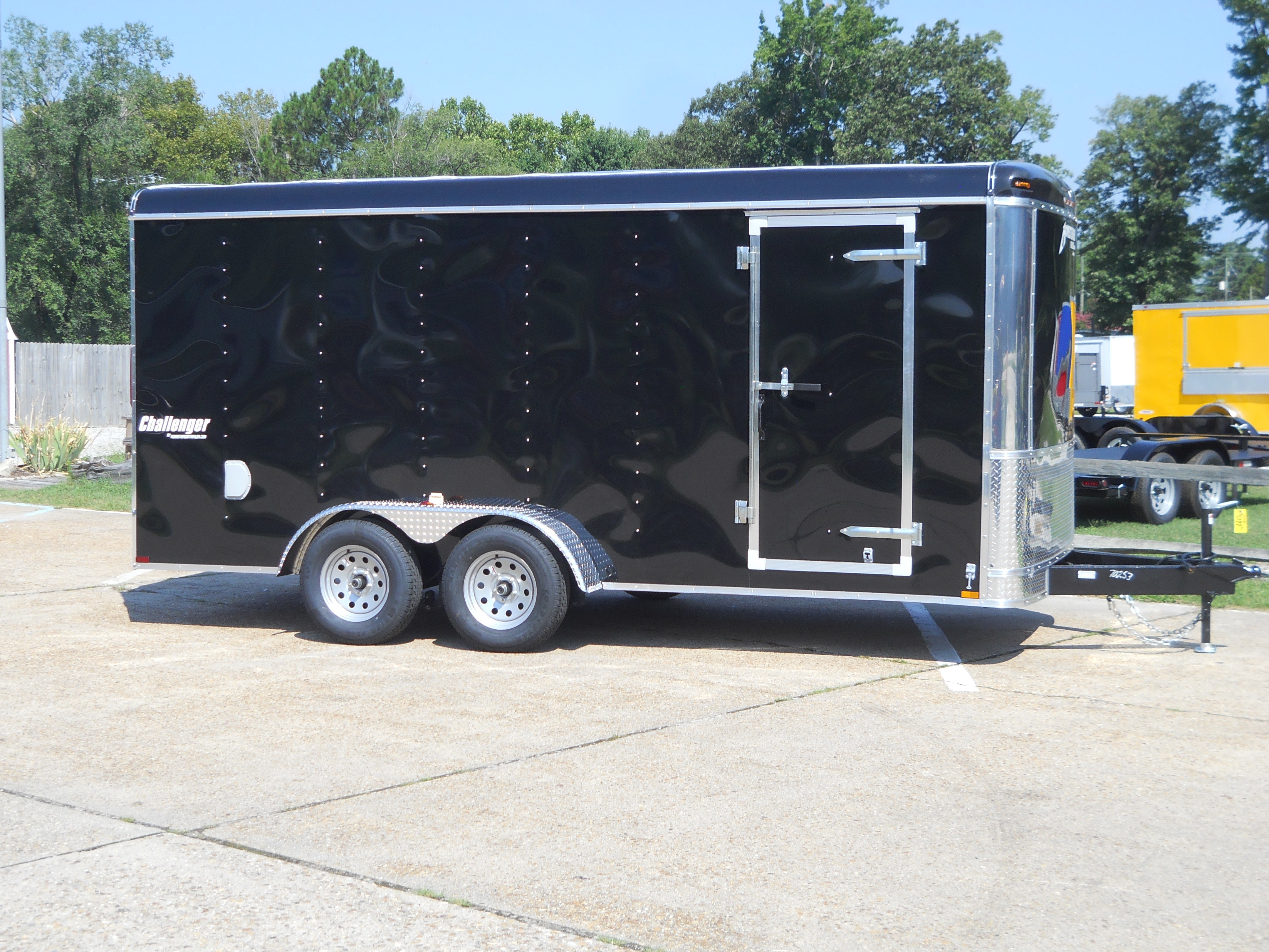 New, 2019, Homesteader, 7X16 CT Challenger* BLACK, Cargo Trailers