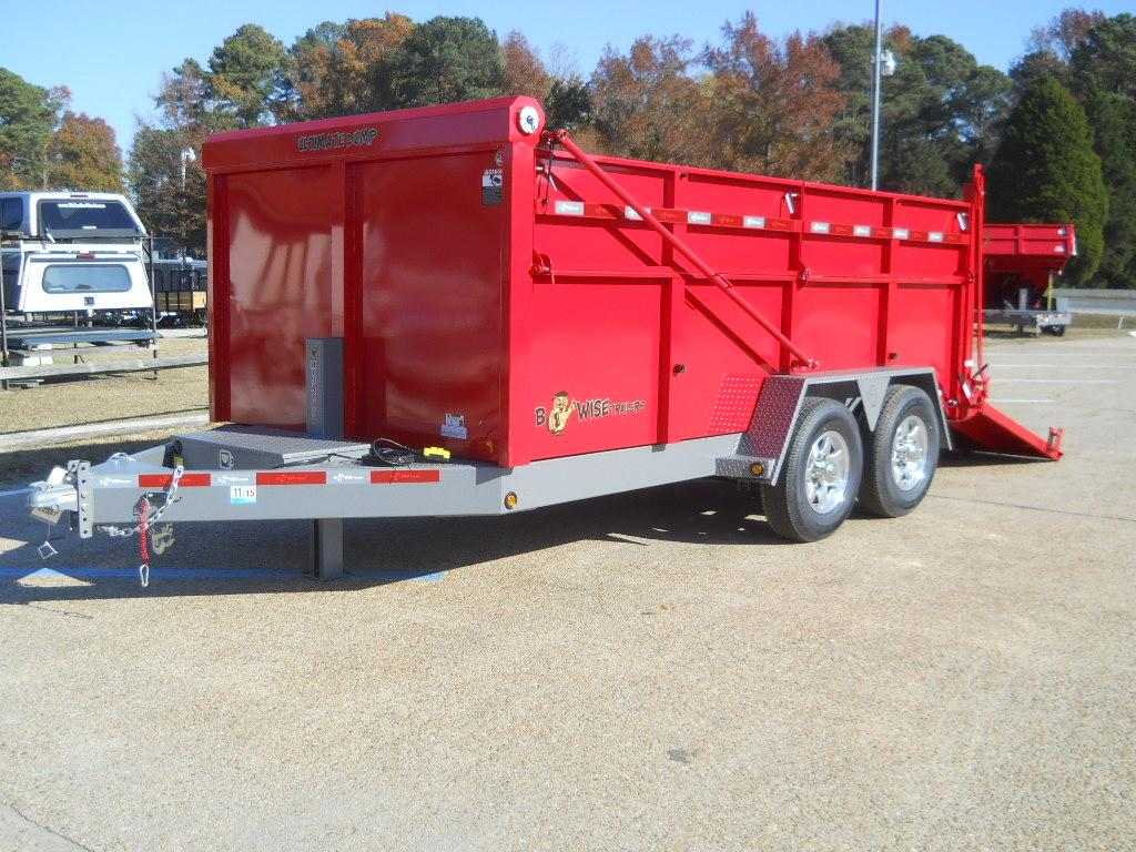 New, 2019, B Wise, 7X14  DU14-15 SPECIAL ORDER*, Equipment Trailers