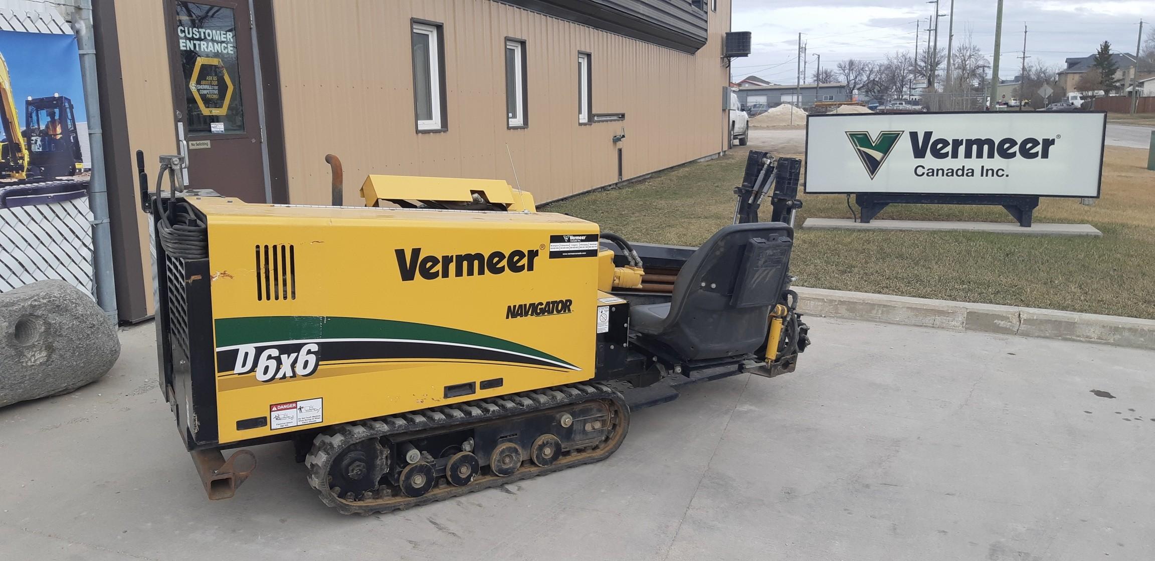 Used, 2013, Vermeer, D6x6, Boring / Drilling Machines
