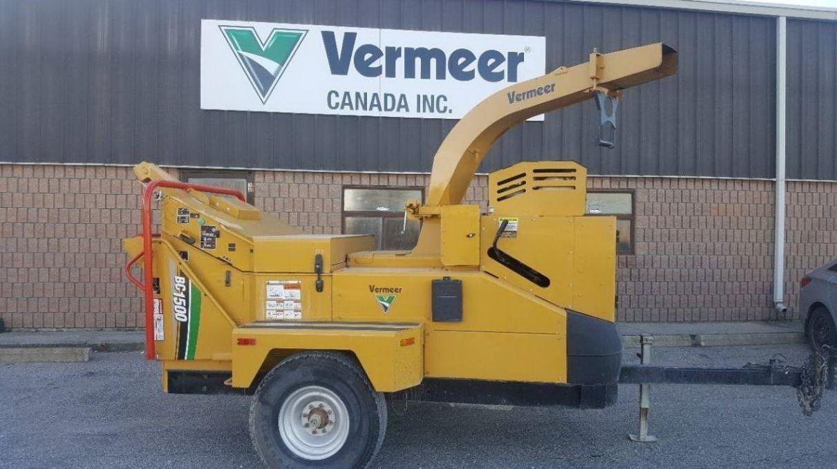 Used, 2016, Vermeer, BC1500 Tier 4 Final, Chippers / Shredders