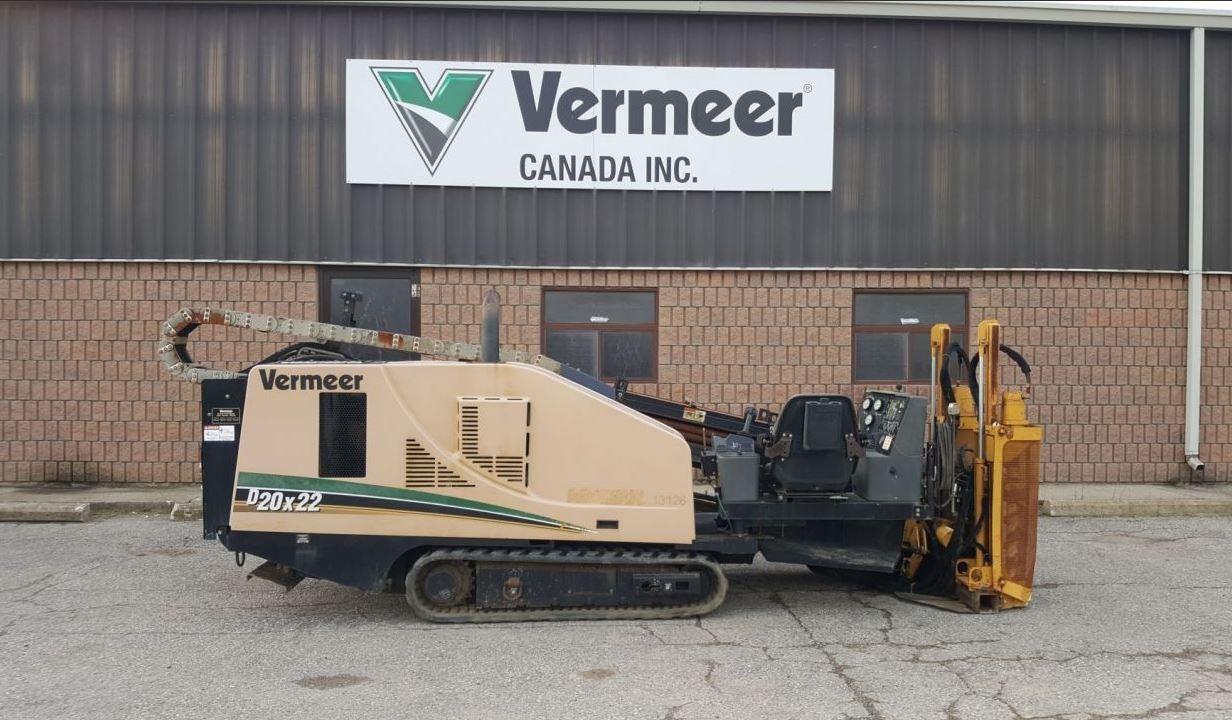 Used, 2009, Vermeer, D20X22II, Boring / Drilling Machines