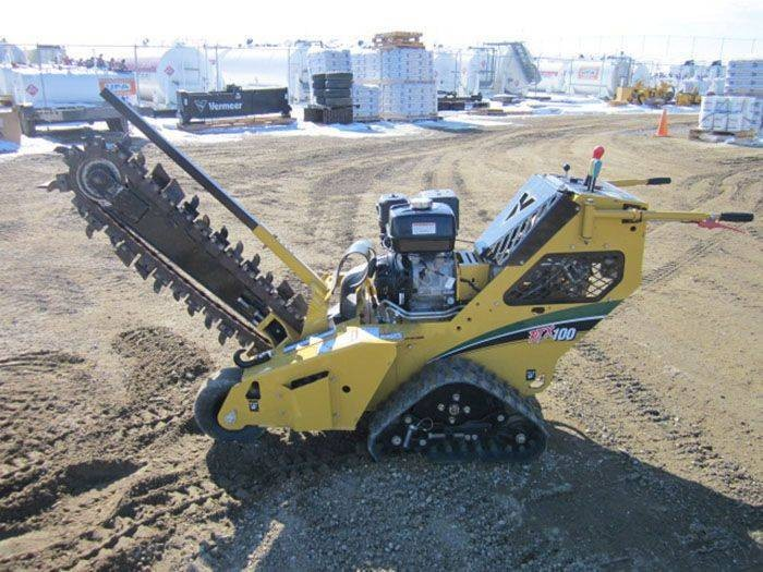 Used, 2016, Vermeer, RTX100, Trenchers