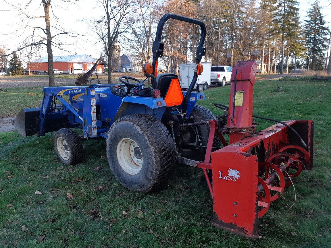 Used, 2008, New Holland Agriculture, 110TL, Loader Attachments