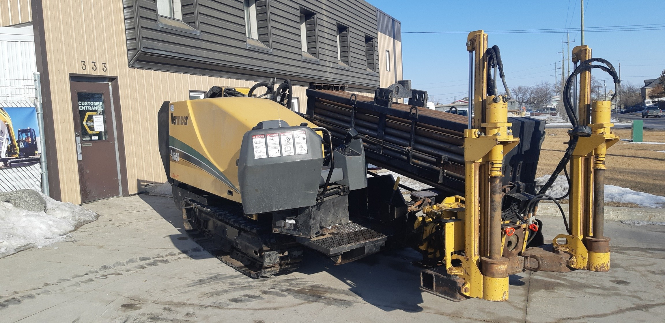 Used, 2013, Vermeer, D36X50 Series II - 10 ft. Rod, Boring / Drilling Machines