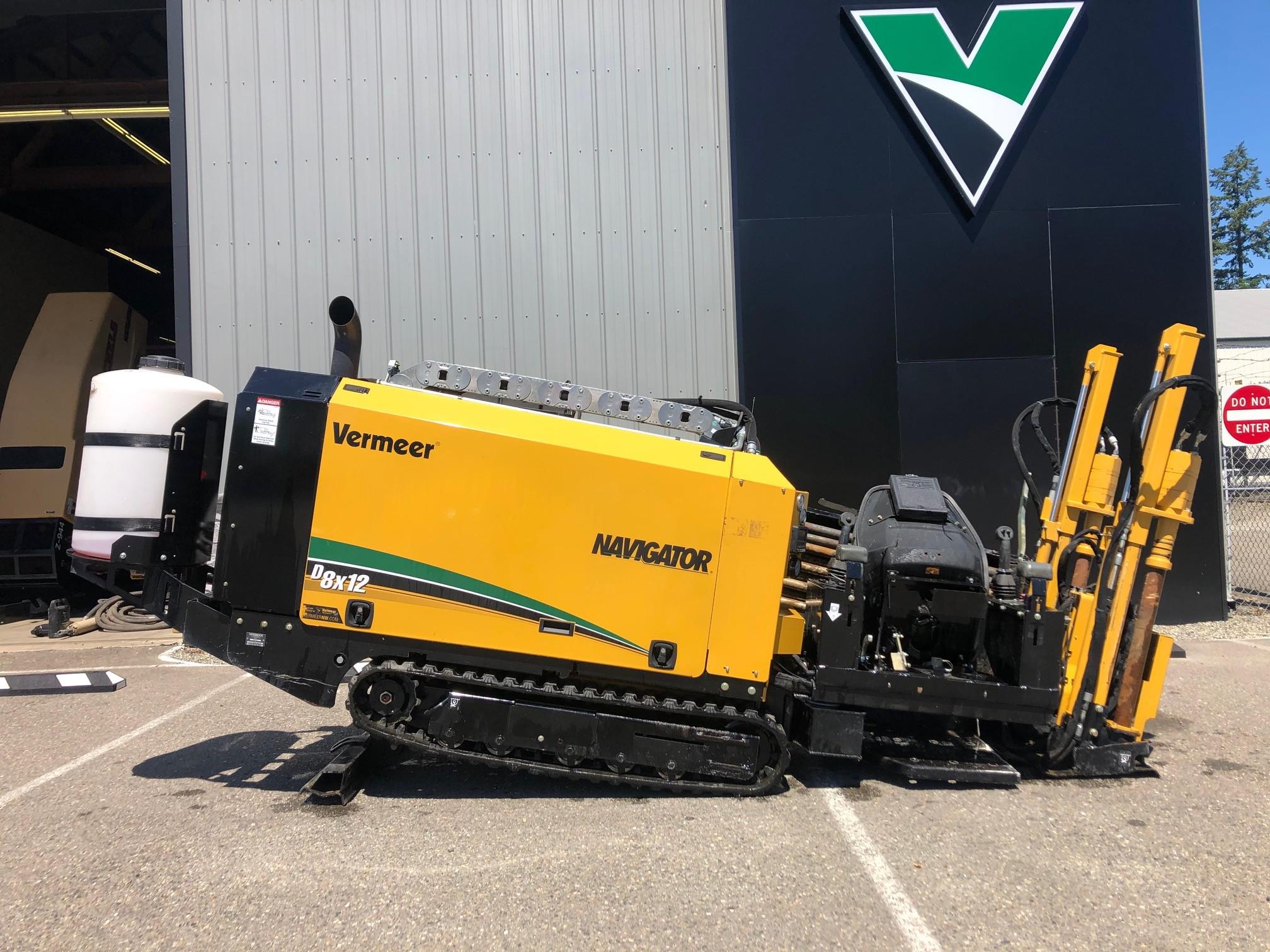 Used, 2018, Vermeer, D8x12, Boring / Drilling Machines