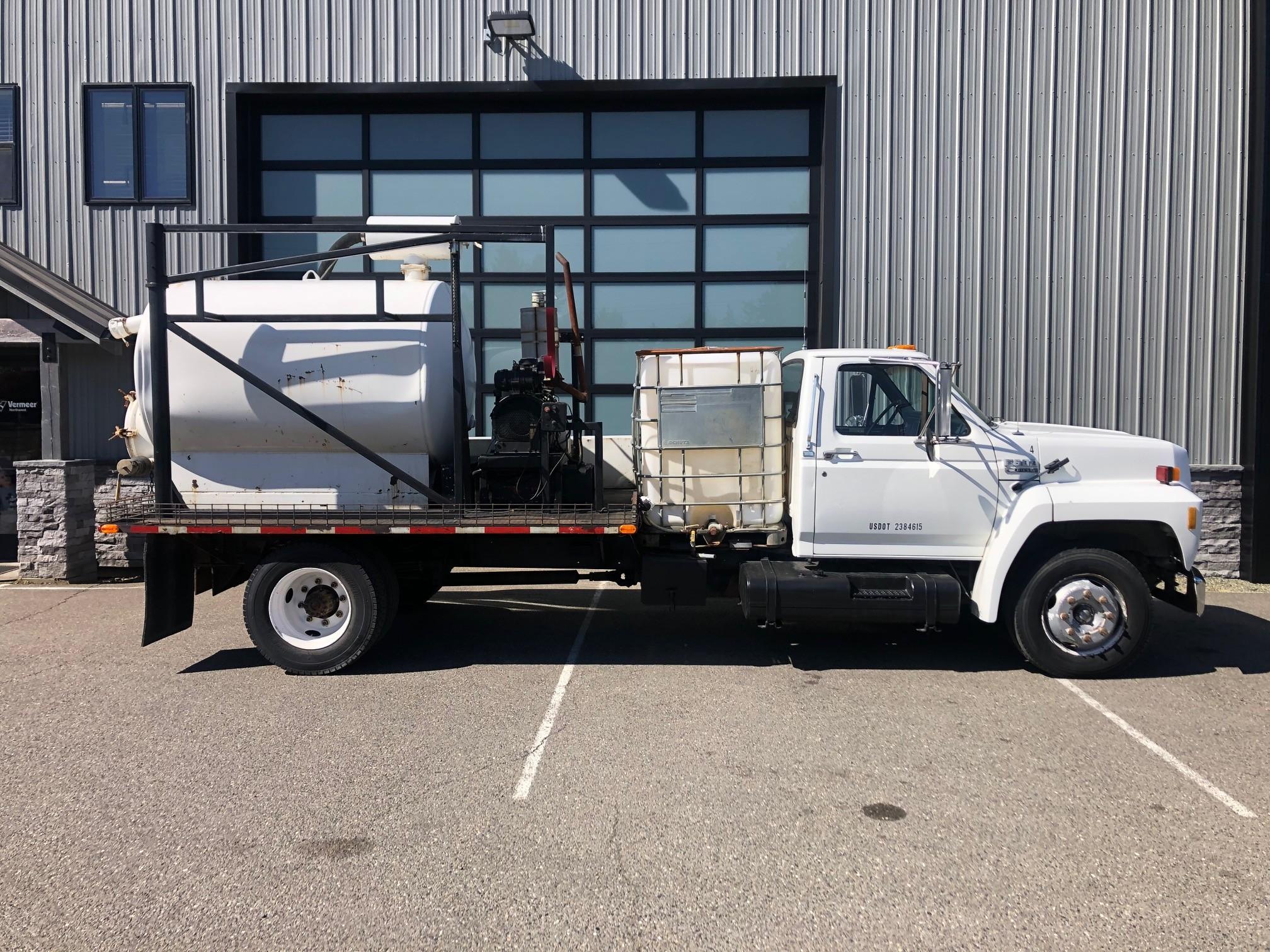 Used, 1993, Ford, F-600, Flatbed Trucks