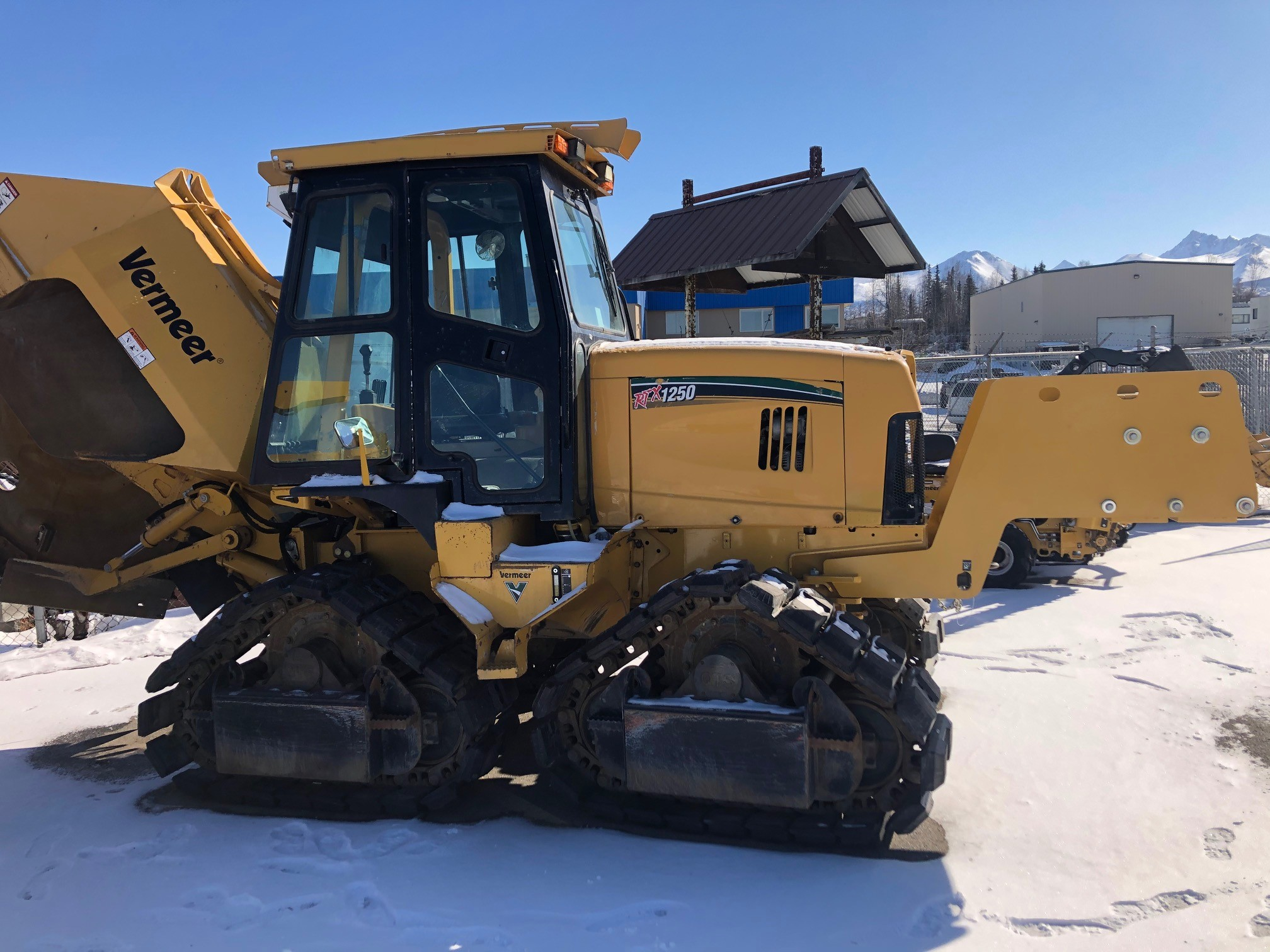 Used, 2012, Vermeer, RTX1250, Trenchers