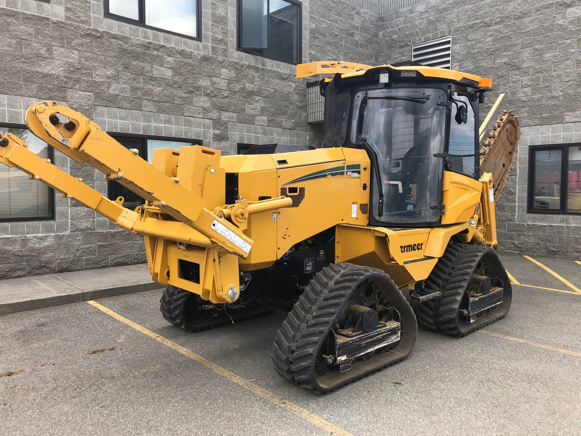 Used, 2019, Vermeer, RTX1250i2, Trenchers