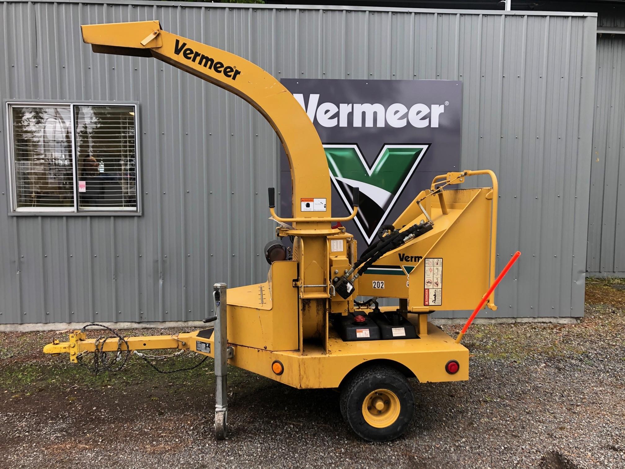 Used, 2002, Vermeer, BC625A, Grinders