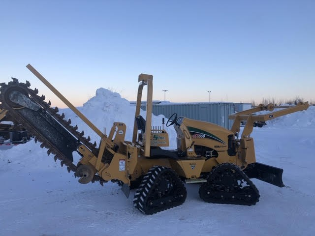Used, 2019, Vermeer, RTX550, Trenchers
