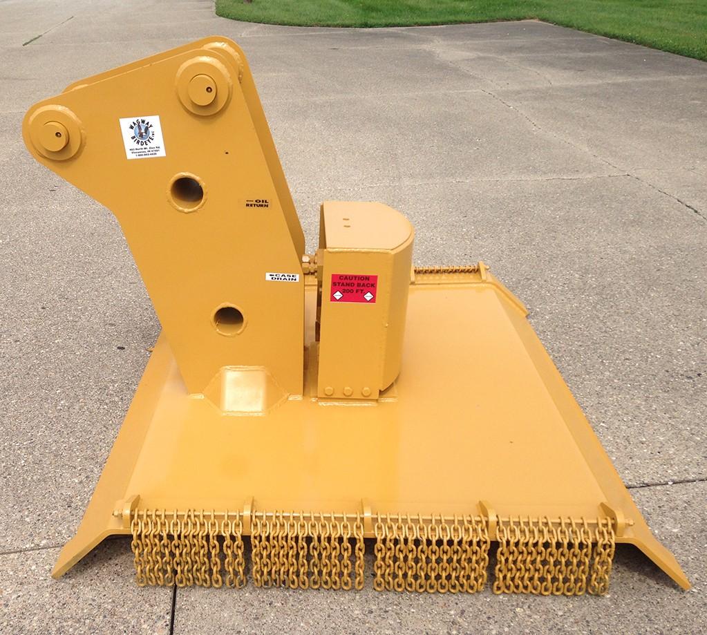 New, 2020, Wag Way, Model 970 Brush Shredder, Excavator Attachments