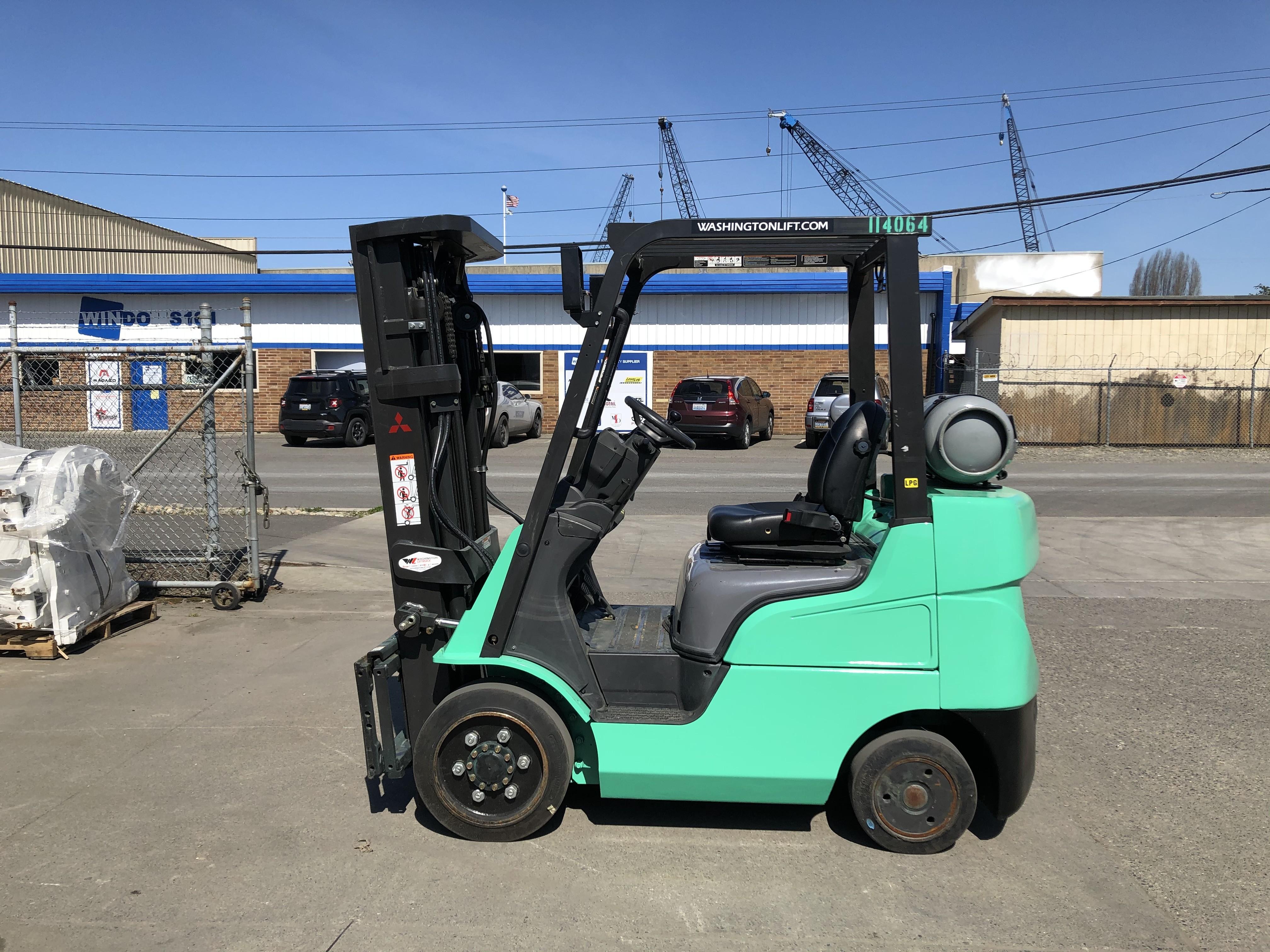 Used, 2014, Mitsubishi Forklift, FGC25N, Forklifts / Lift Trucks