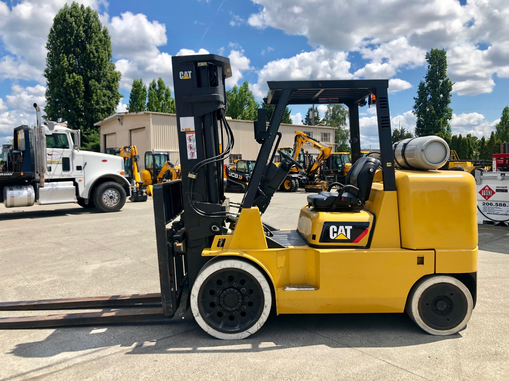 Used, 2014, CAT Lift Trucks, GC70K, Forklifts / Lift Trucks