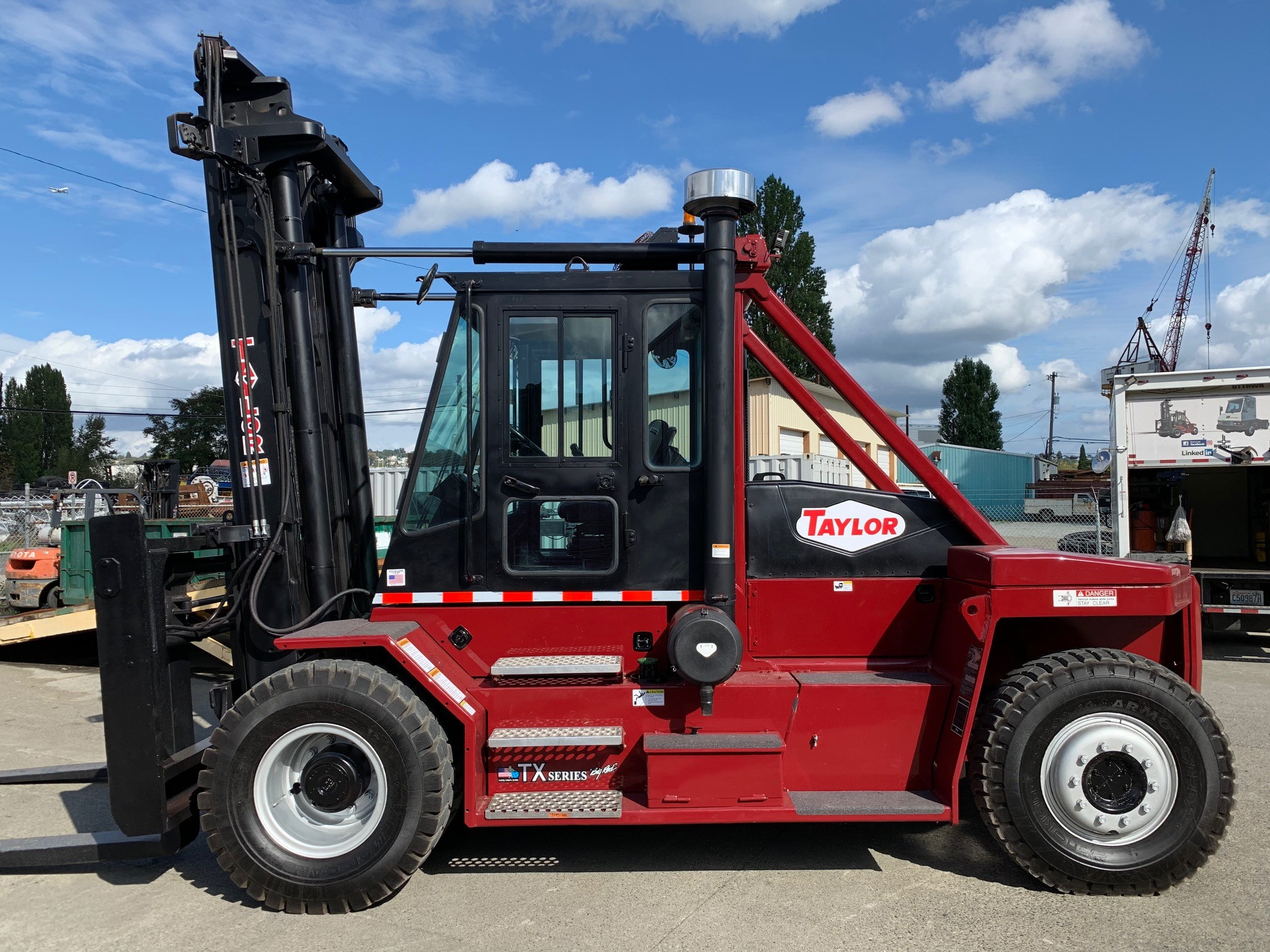 Used, 2007, Taylor, TX360L, Forklifts / Lift Trucks