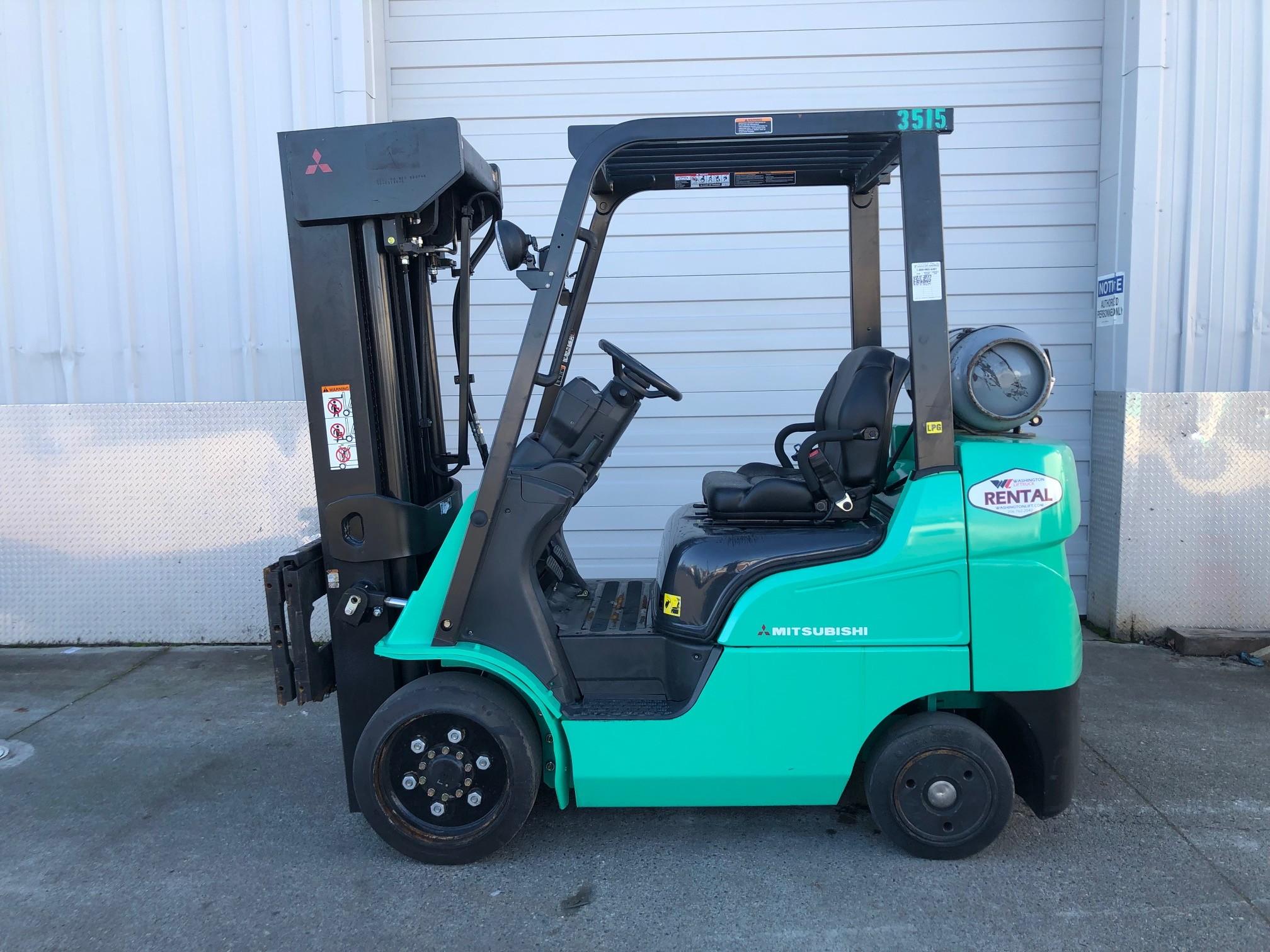 Used, 2012, Mitsubishi Forklift, FGC25N, Forklifts / Lift Trucks