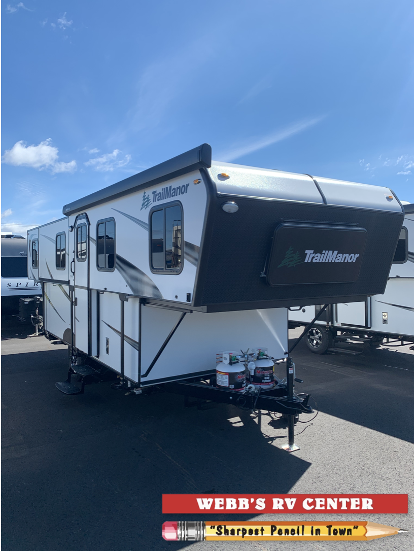 New, 2021, TrailManor, 2720QB, Travel Trailers