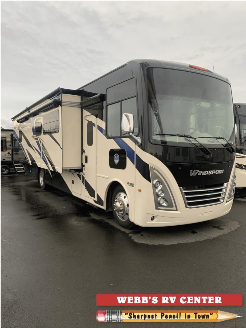 New, 2022, Thor Motor Coach, Windsport 34R, RV - Class A