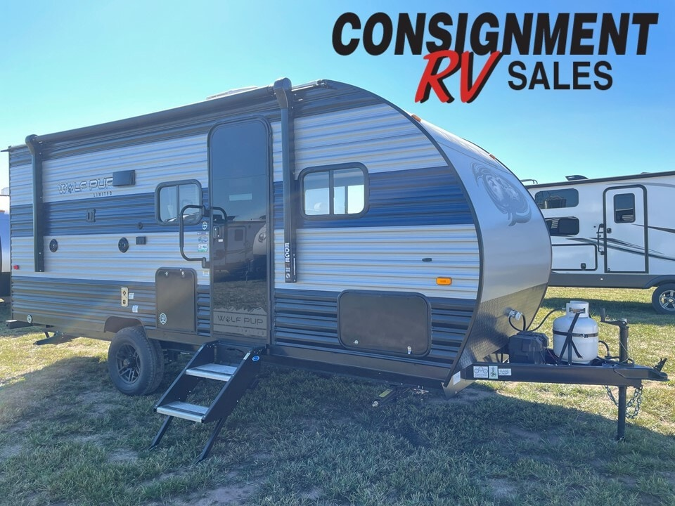 New, 2022, Forest River, Cherokee Wolf Pup 18TO Limited, Travel Trailers