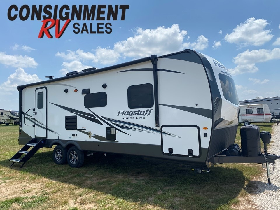 New, 2022, Forest River, Flagstaff Super-Lite 26RBWS, Travel Trailers