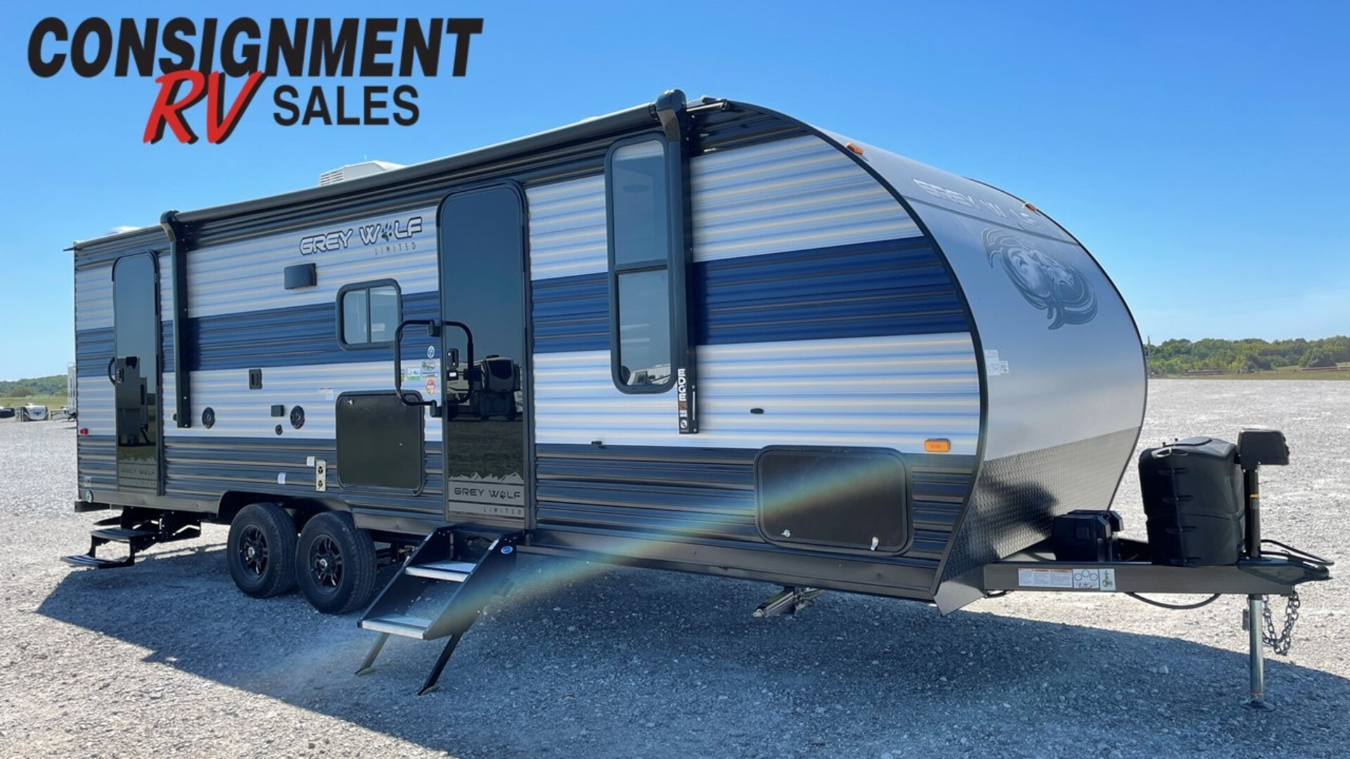 New, 2022, Forest River, Cherokee Grey Wolf 23DBH Limited, Travel Trailers