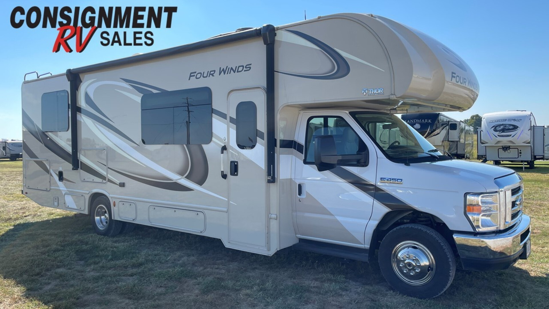 Used, 2019, Thor Motor Coach, Four Winds 31Y, RV - Class C