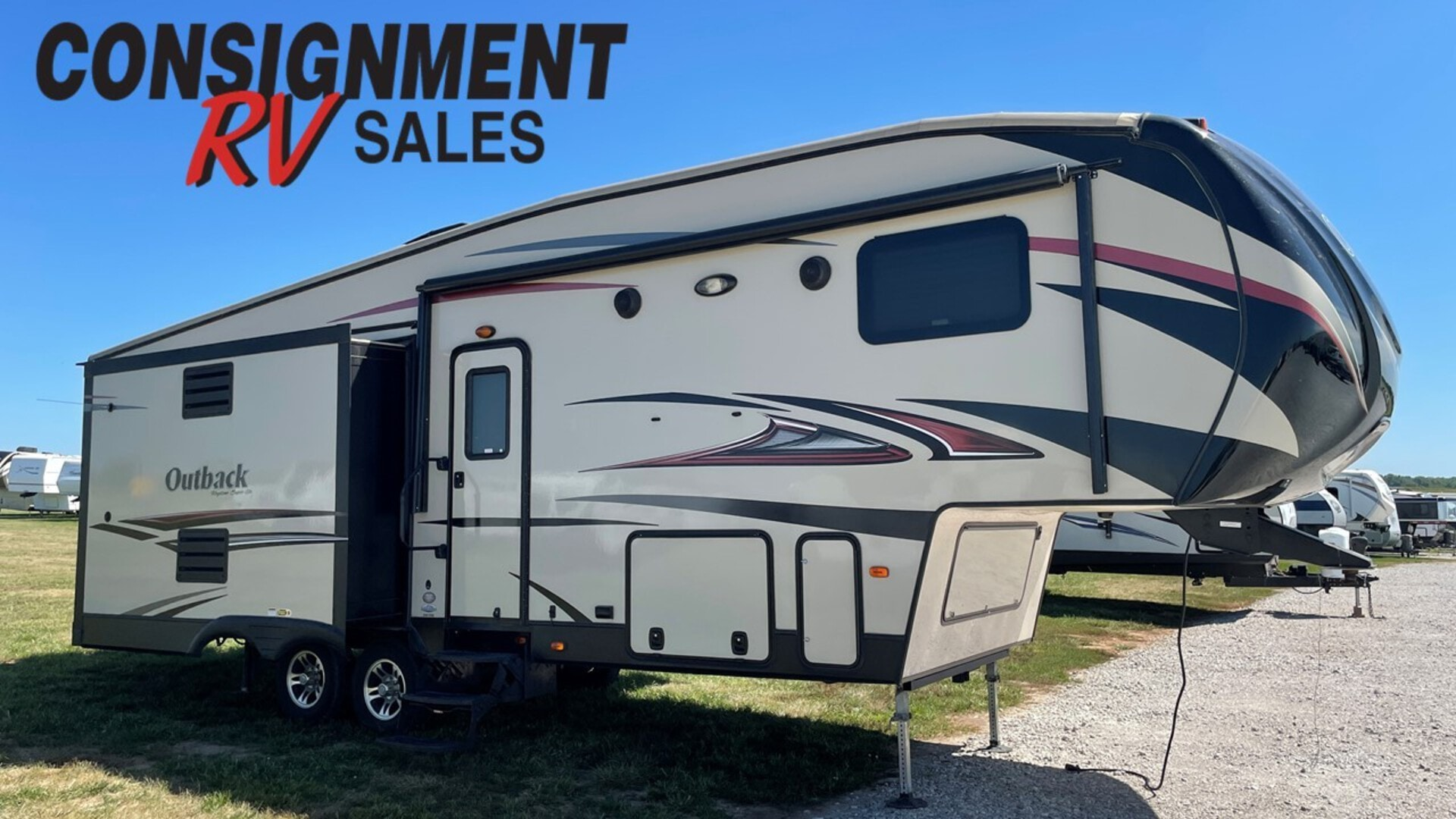 Used, 2015, Keystone, Outback 296FRS, Fifth Wheels