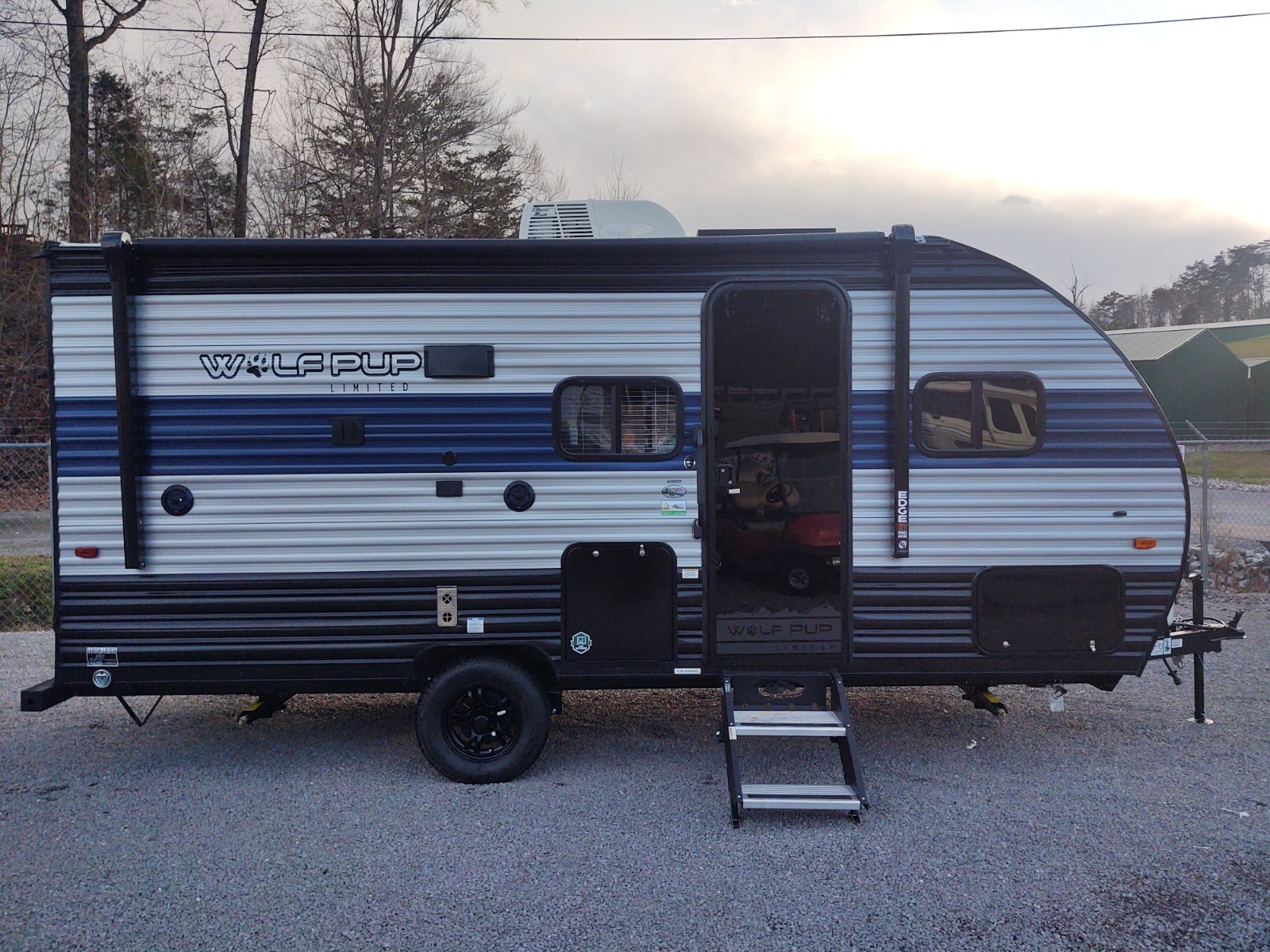 New, 2021, Forest River, Cherokee Wolf Pup 16BHS, Travel Trailers