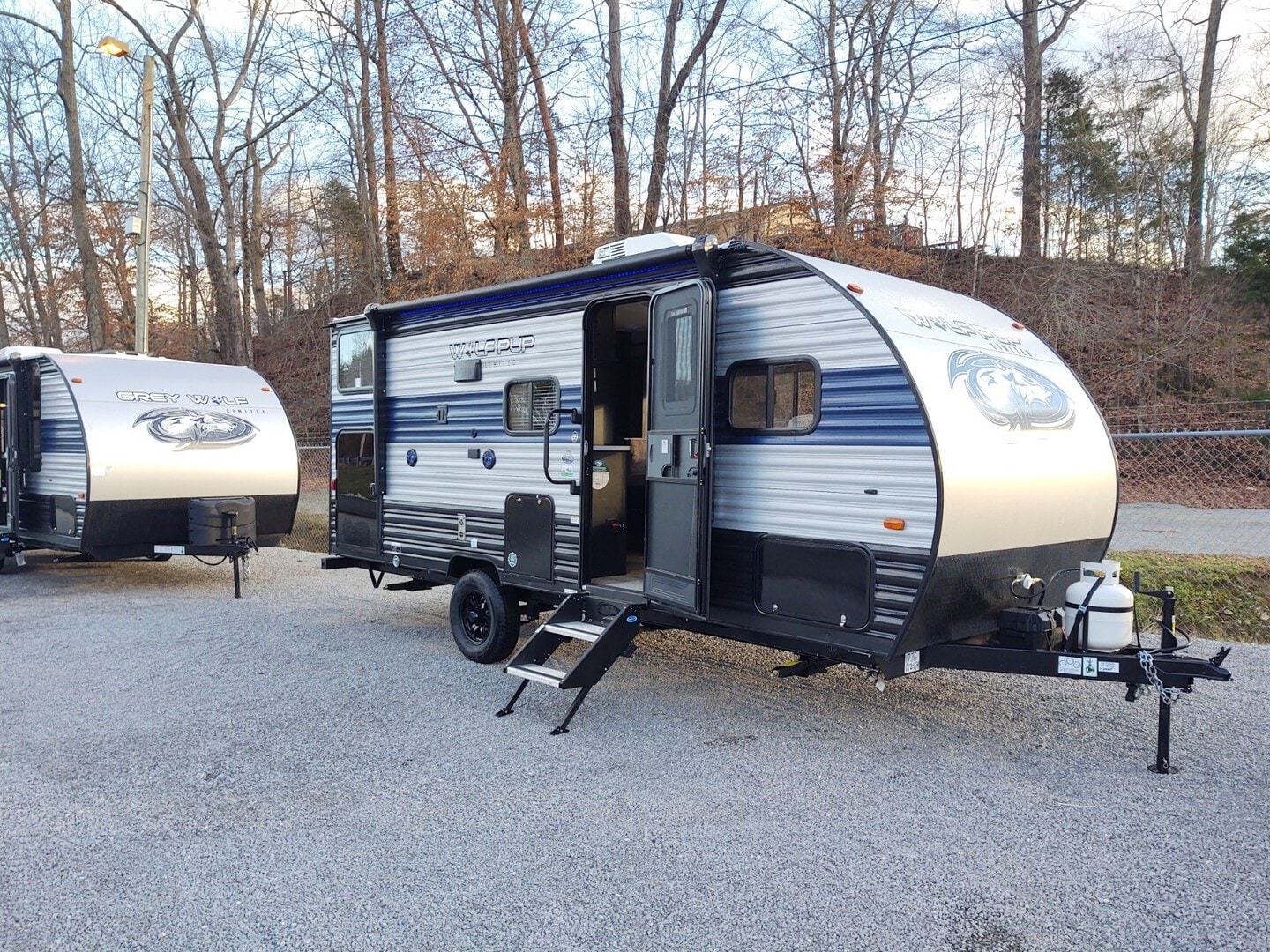 New, 2021, Forest River, Cherokee Wolf Pup 17JG, Travel Trailers