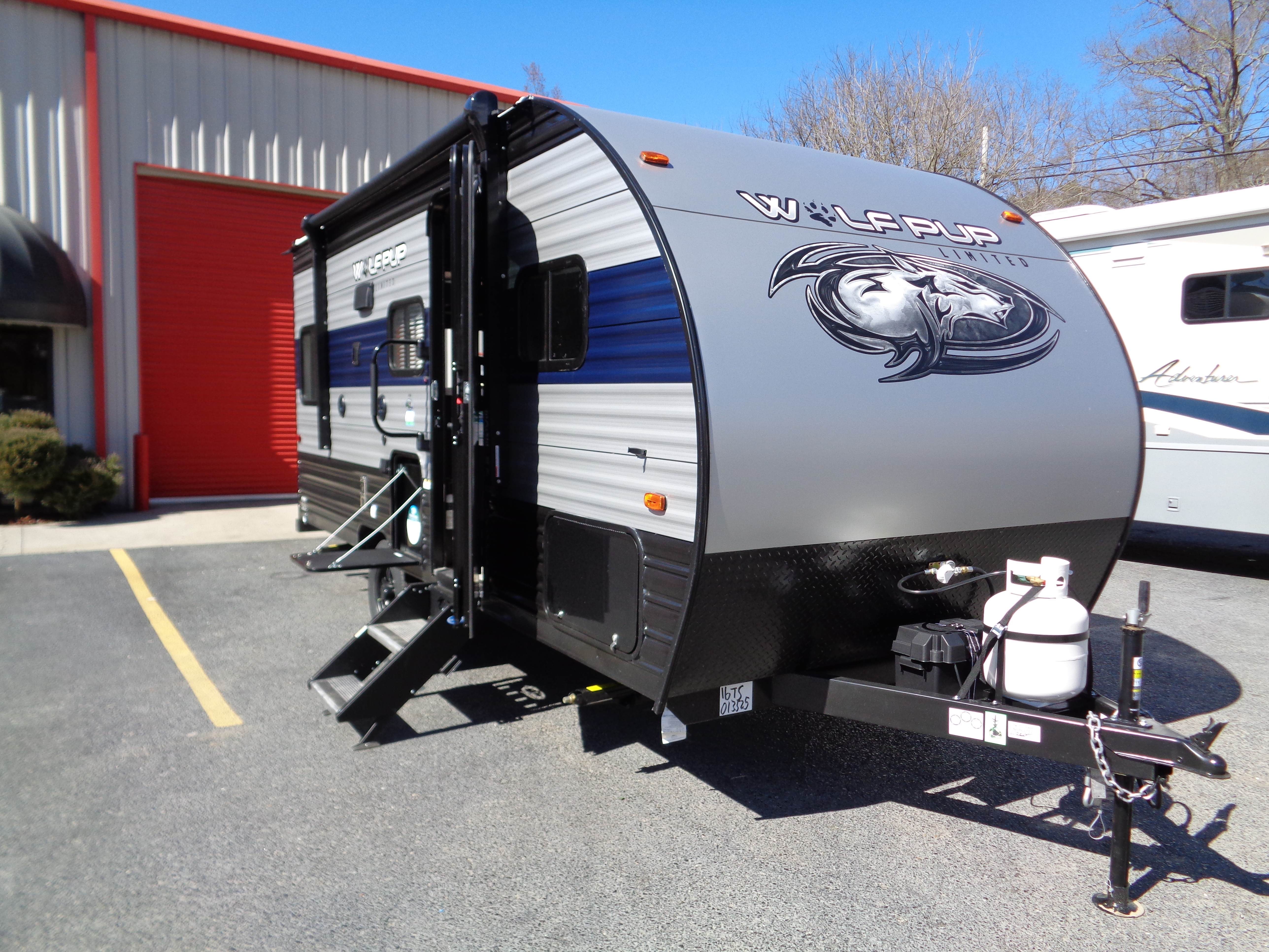 New, 2021, Forest River, Cherokee Wolf Pup 16TS, Travel Trailers