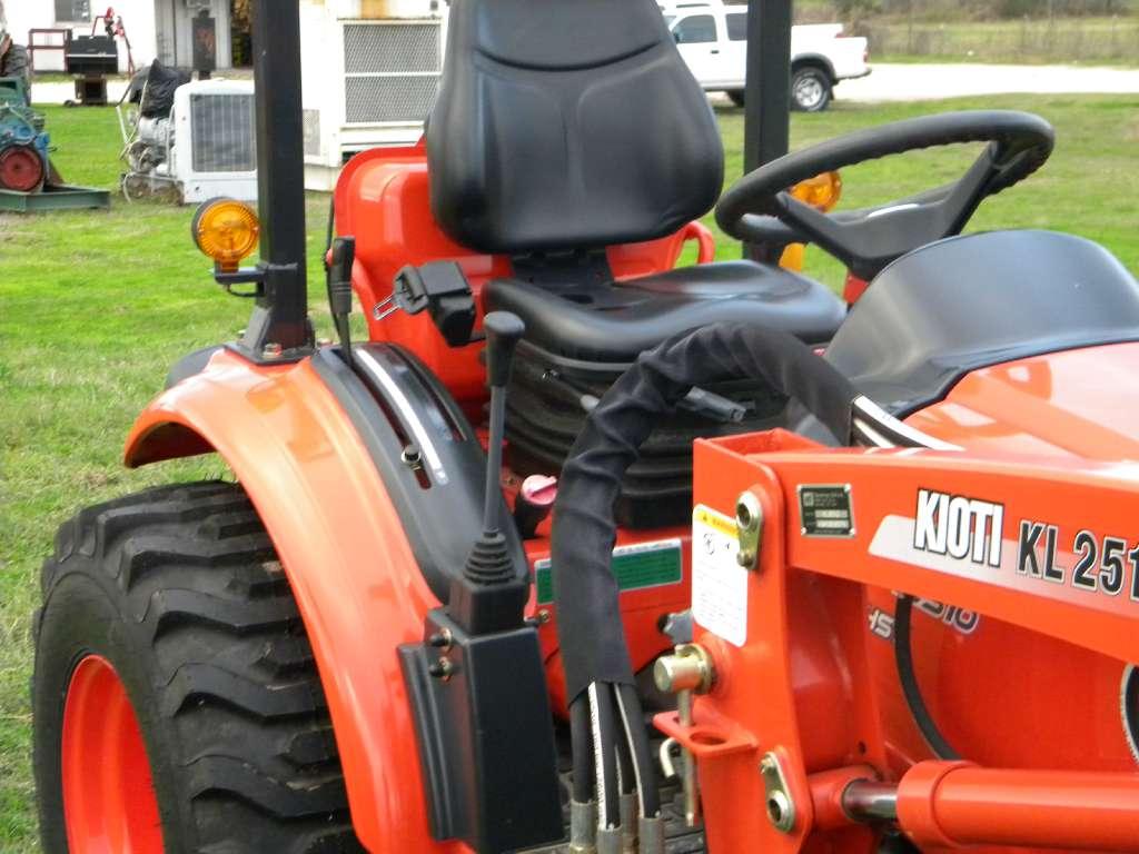 New, 2015, KIOTI, CK2510 HST, Tractors