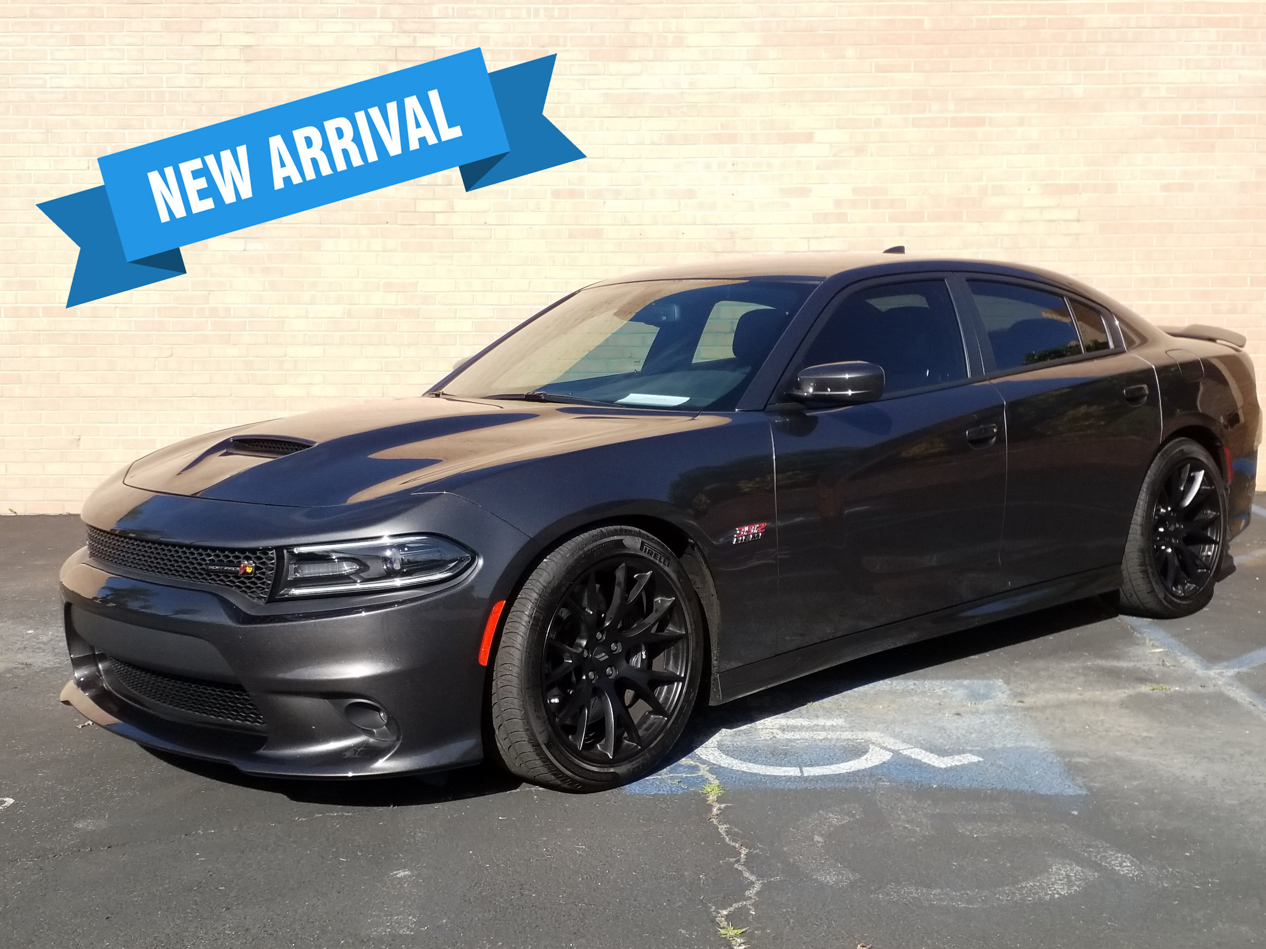 Used, 2017, Dodge, Charger R/T Scat Pack, Automobiles