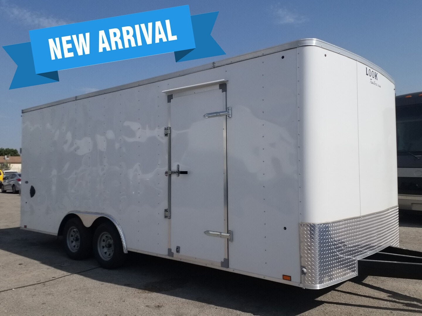 Used, 2021, Look Trailers, 8.5x20, Enclosed Trailers