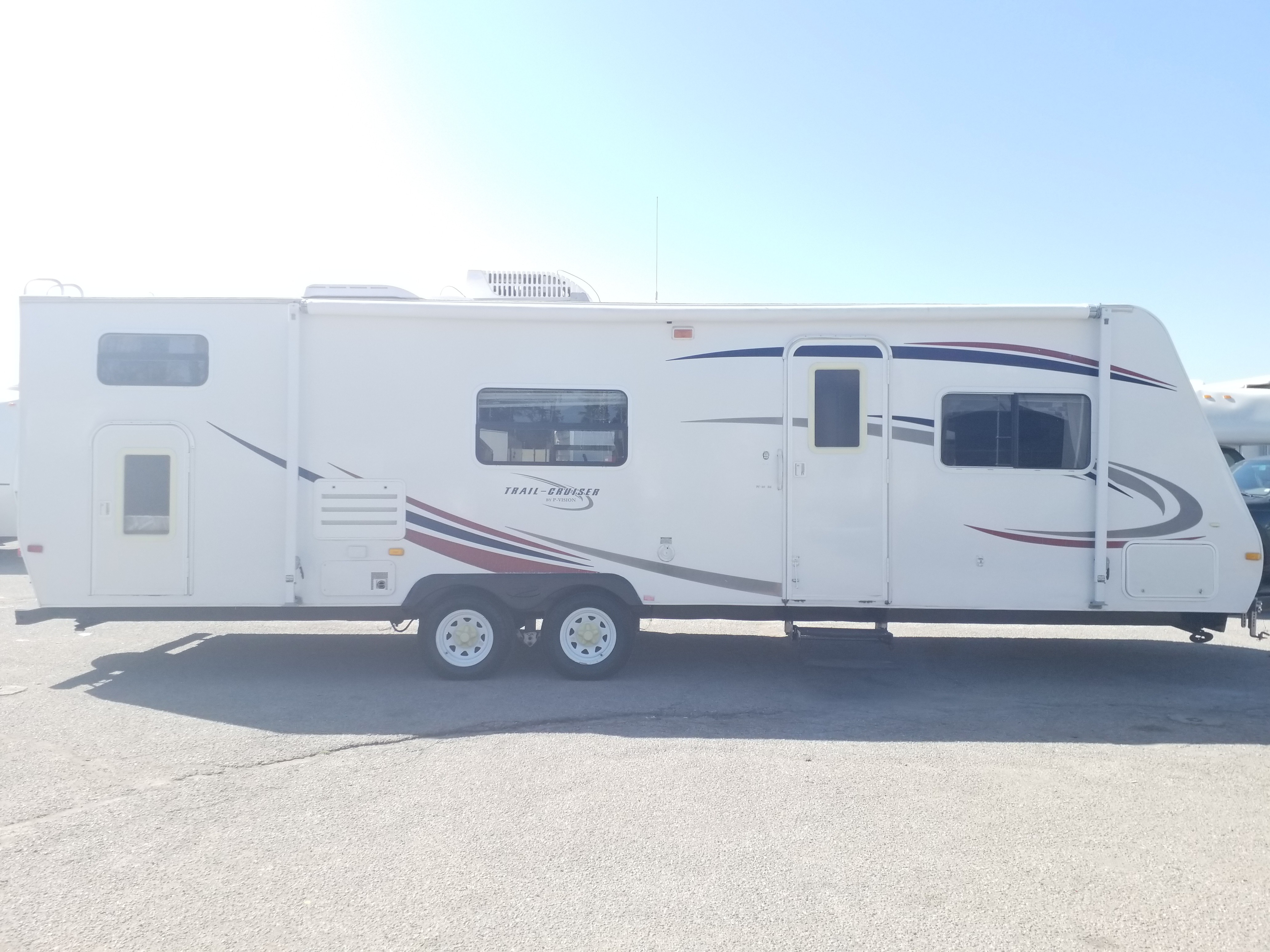 Used, 2009, R-Vision, Trail Cruiser, Travel Trailers