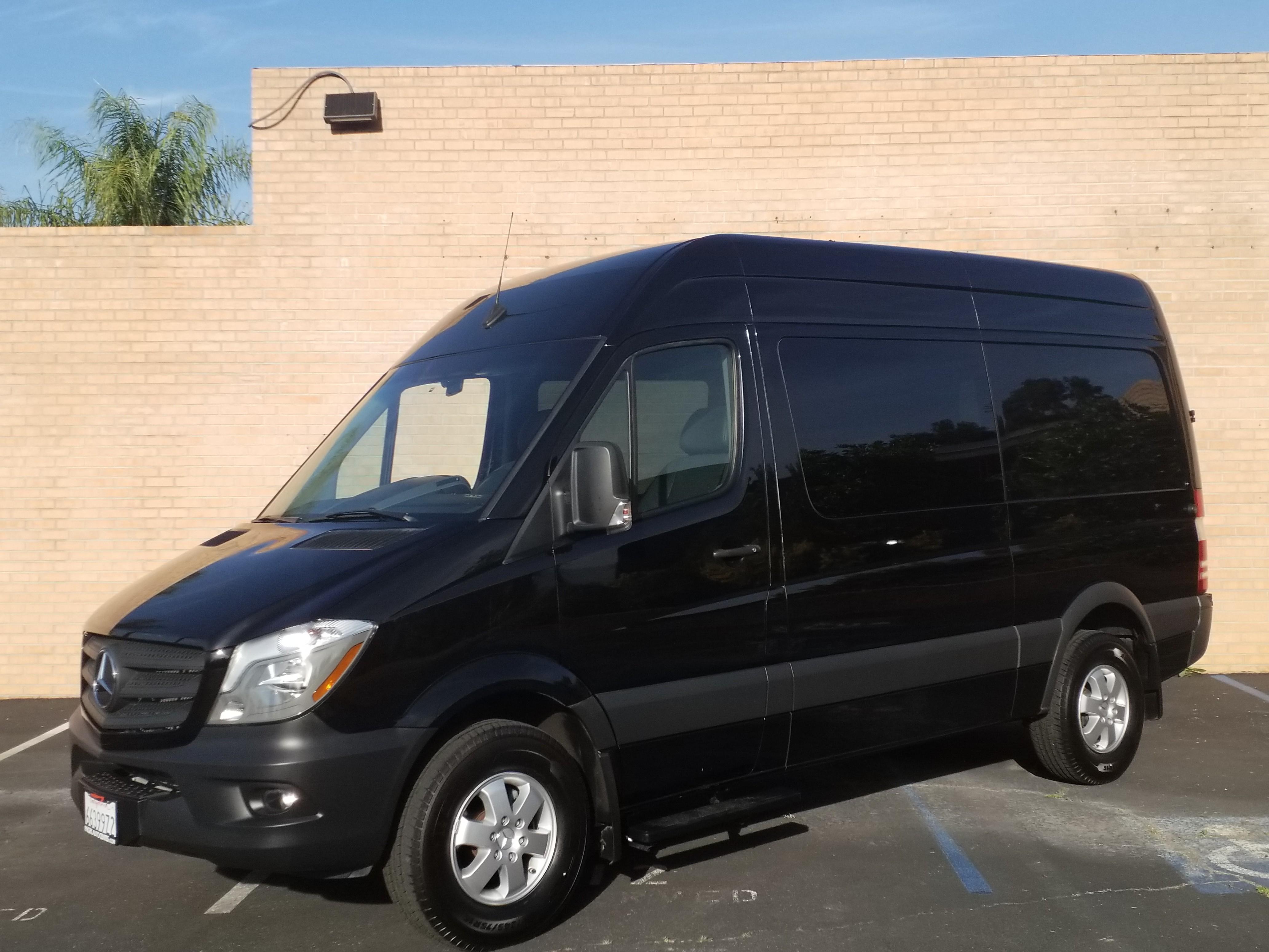 Used, 2017, Mercedes Benz, Sprinter 2500 Crew, Vans