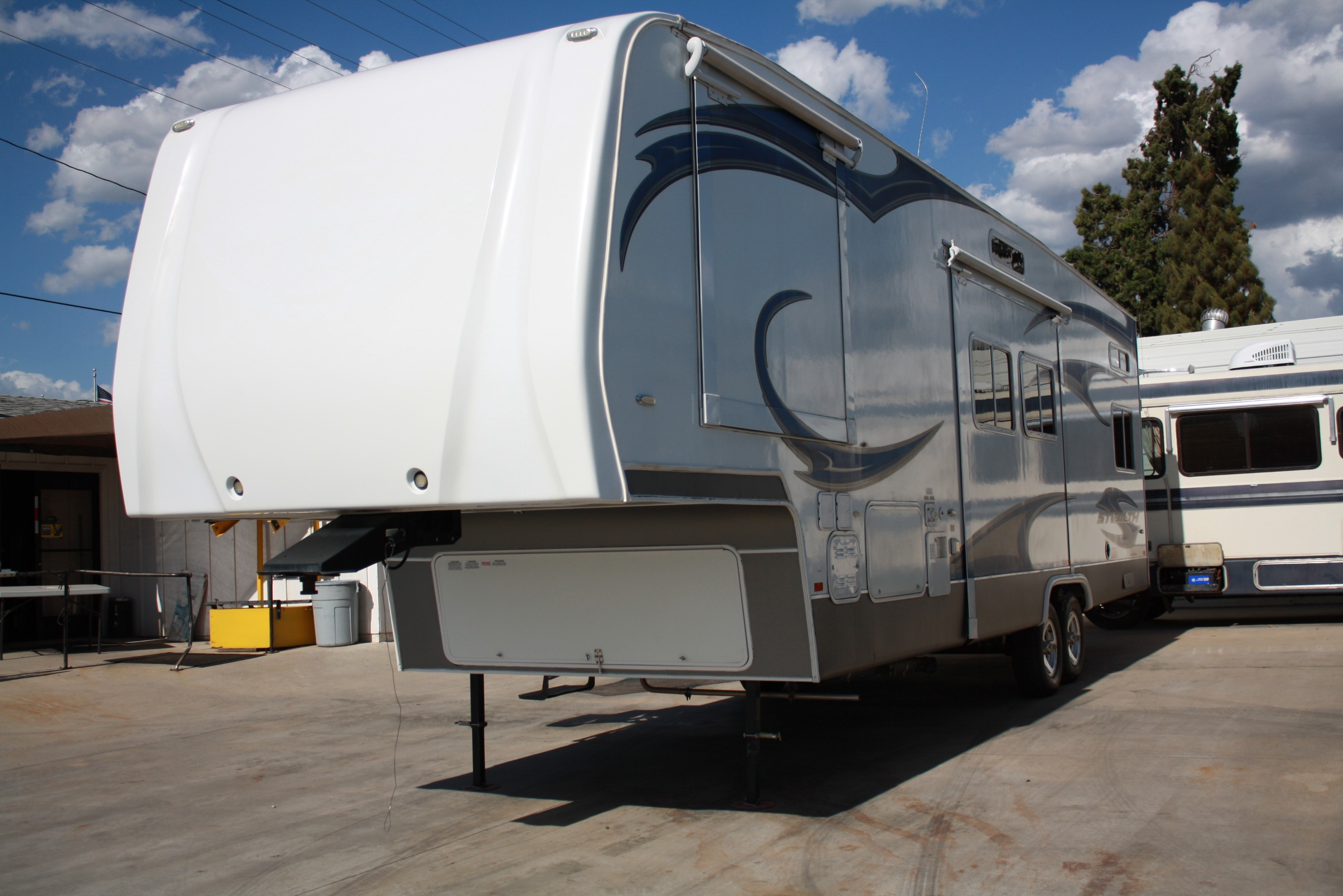 Used, 2011, Forest River, Stealth Wide Body Lite Series RG 3210, Toy Haulers