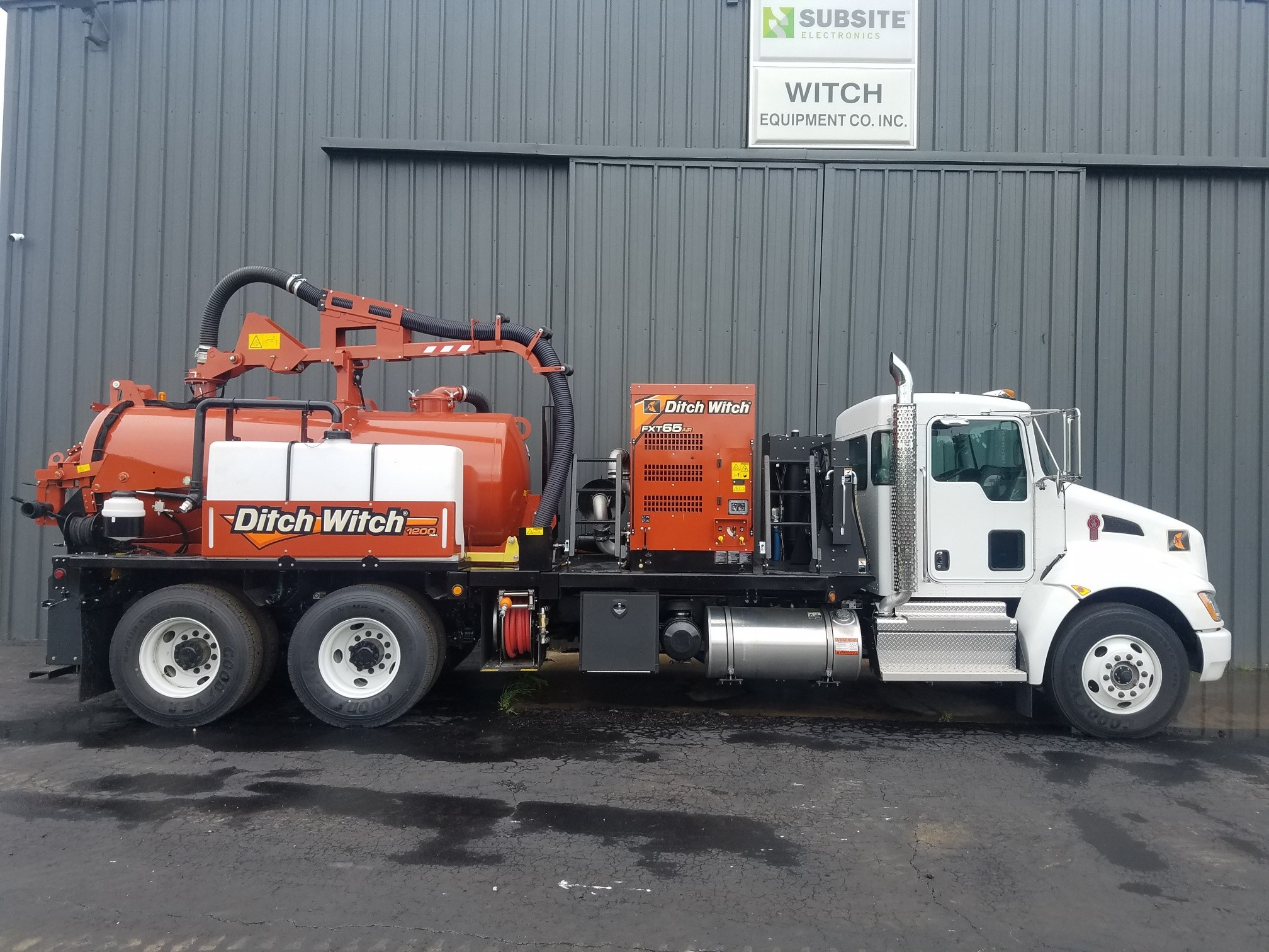 New, 2019, Ditch Witch, FXT65 Air, Vacuums
