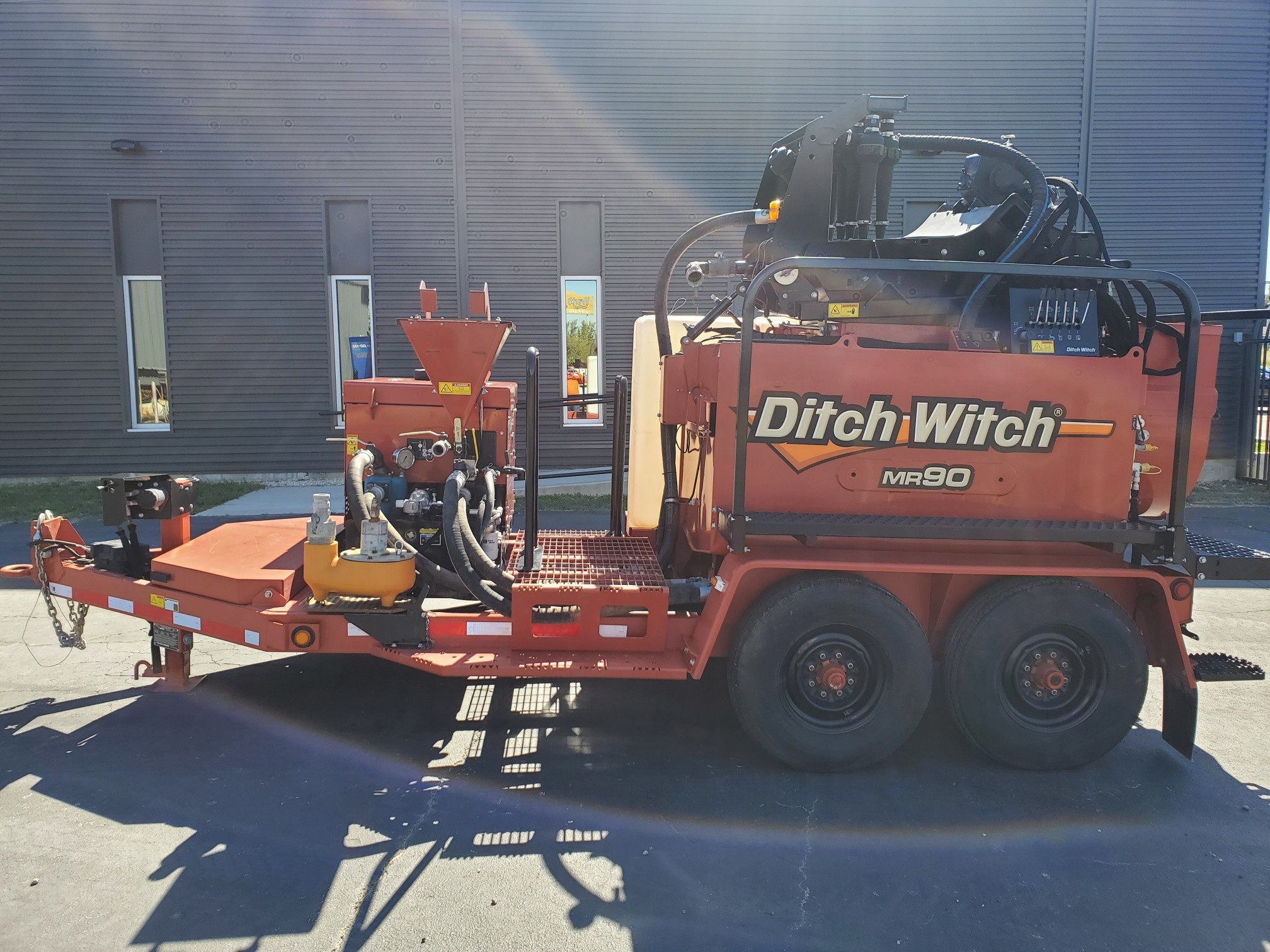 Used, 2015, Ditch Witch, MR90, Mixers