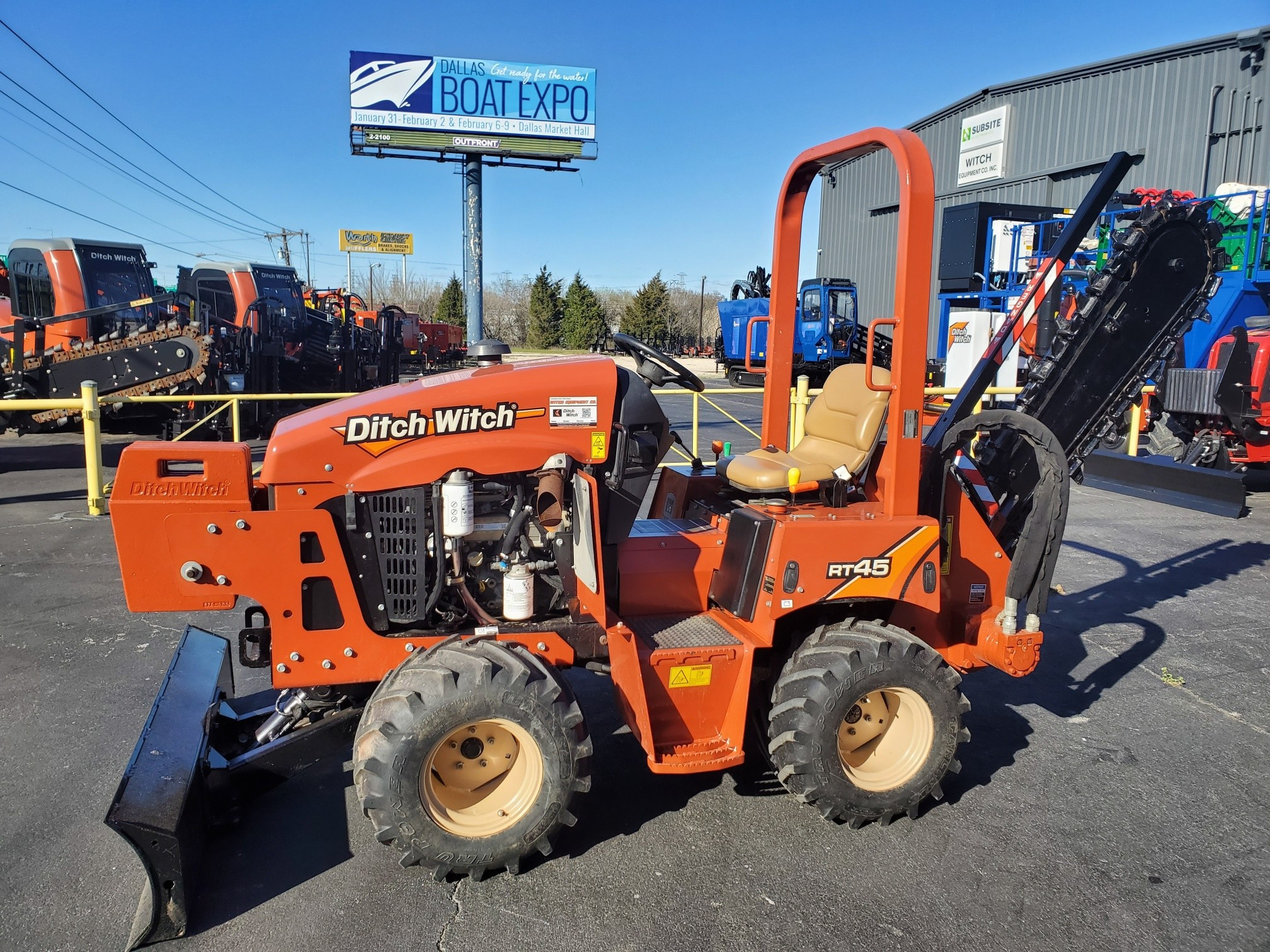 Used, 2018, Ditch Witch, RT45, Trenchers