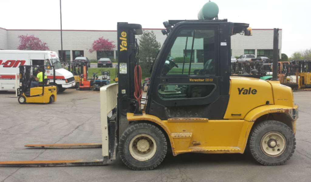 Used, 2009, Yale, GP135VX (Value Package), Forklifts / Lift Trucks