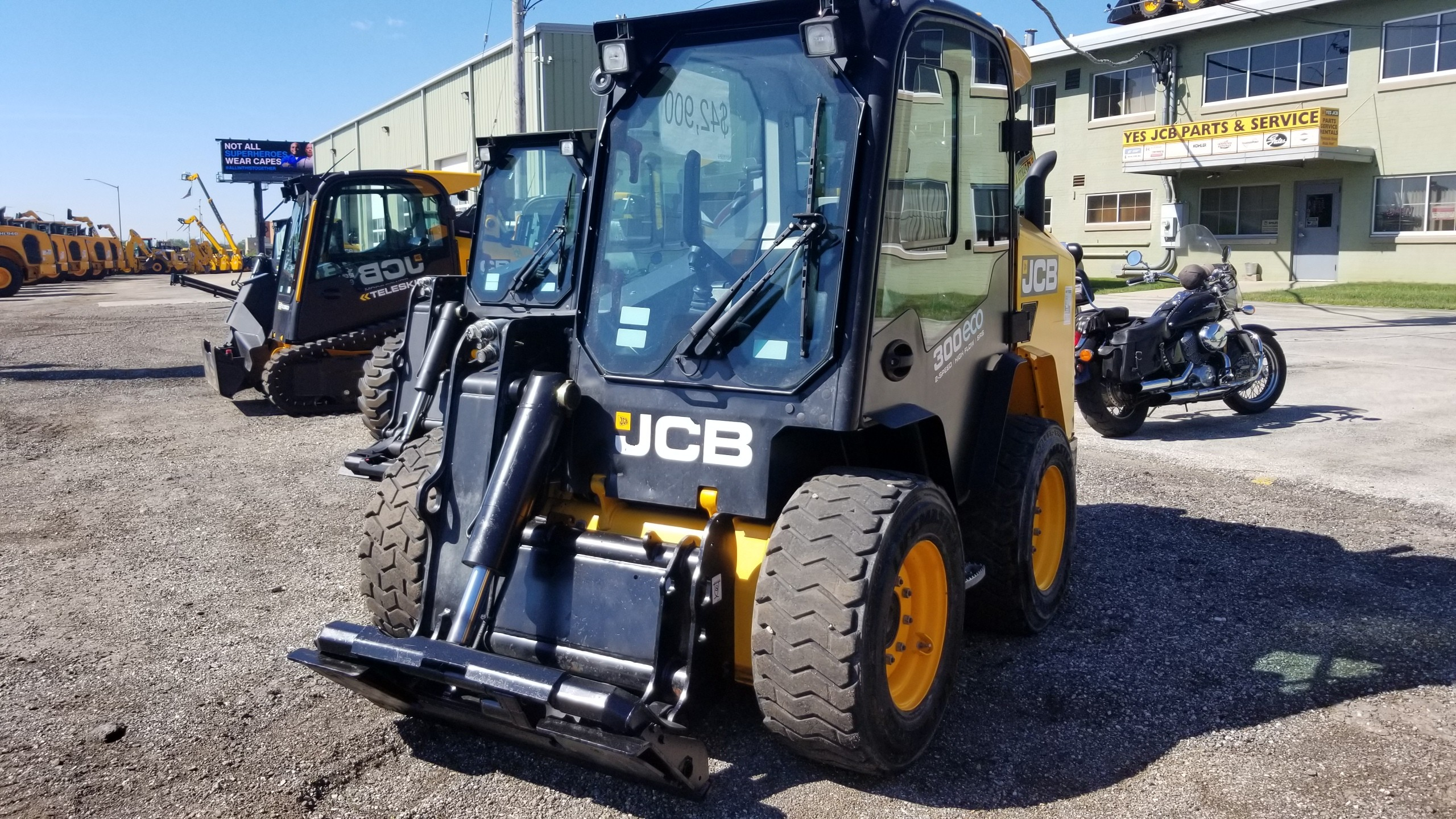 Used, 2014, JCB, 300, Skid Steers