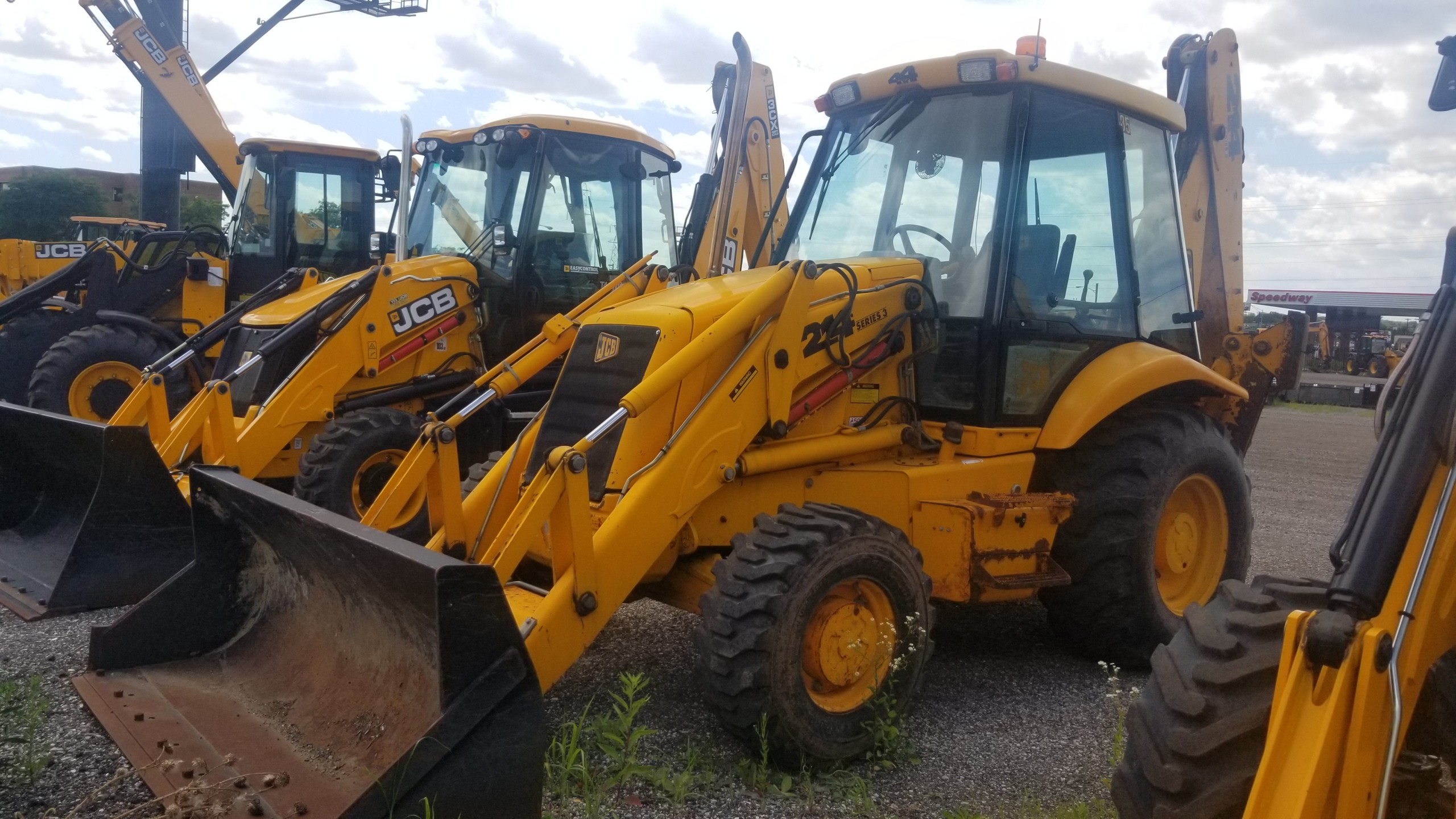 Used, 1998, JCB, 214, Backhoe Loaders